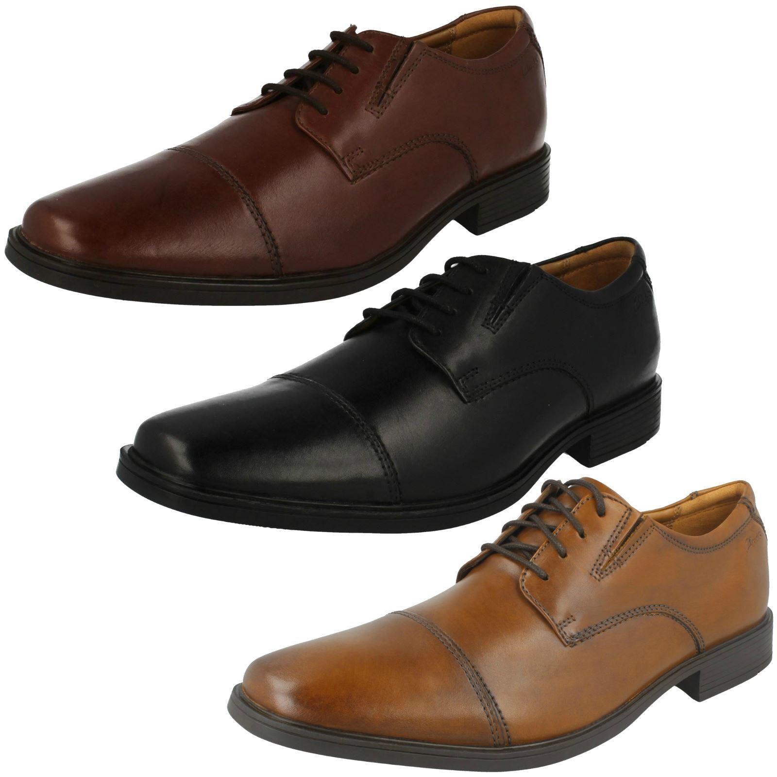 supporto al dettaglio all'ingrosso Da Uomo Uomo Uomo Clarks Formali Con Lacci Scarpe  Tilden è Cap   nuovi prodotti novità