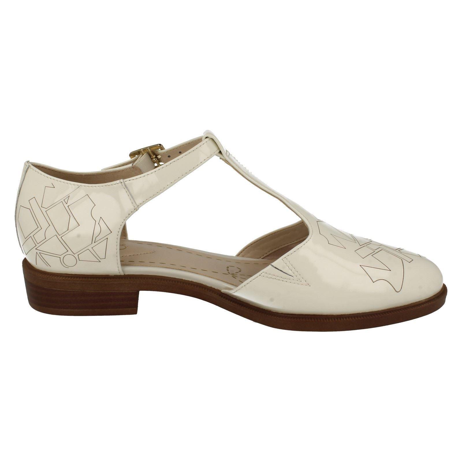 Fashion Clarks blanco T Taylor White Off Ladies Palm bares a5qAndF