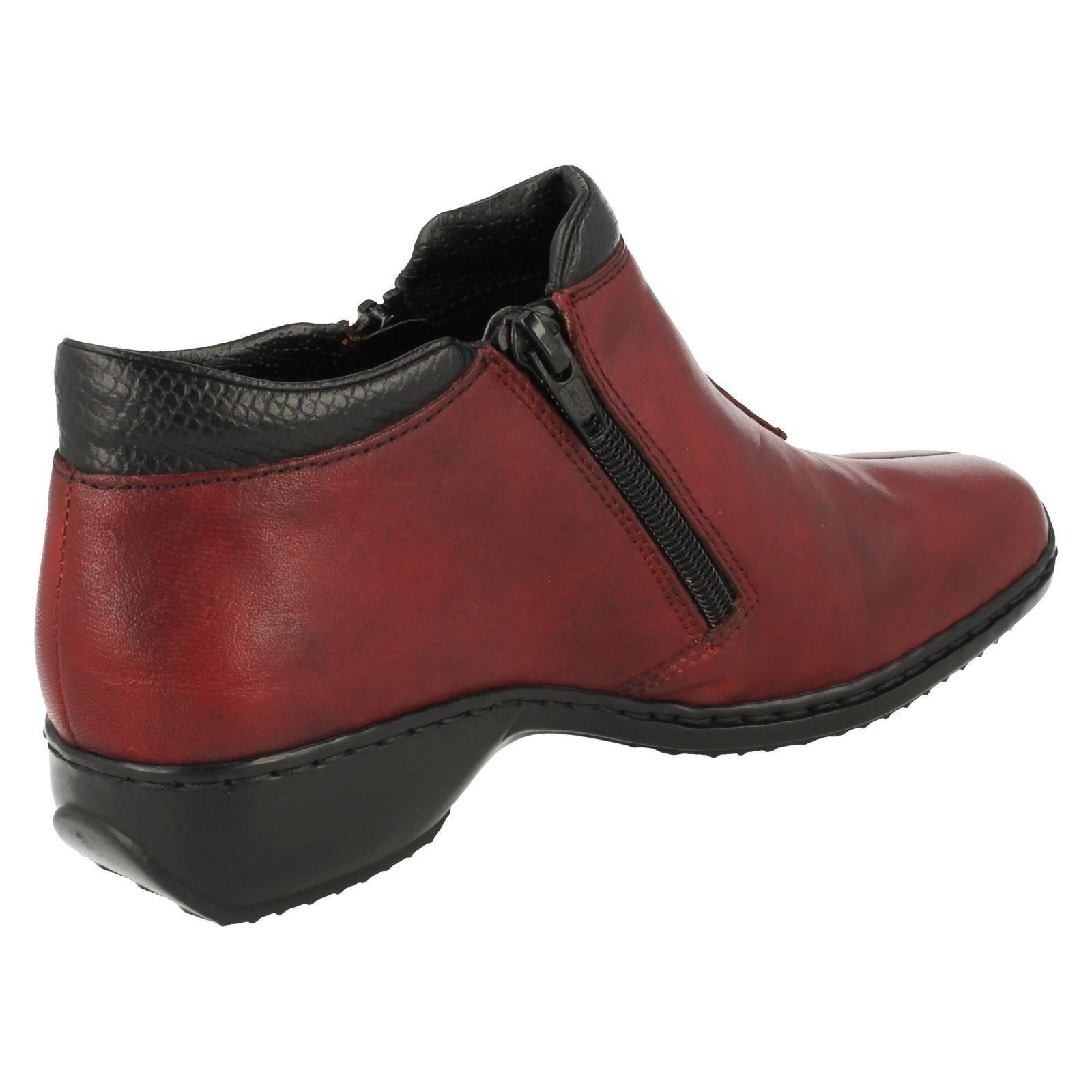 Ladies Rieker Rieker Rieker Causal Ankle Boots L3882 5effa3