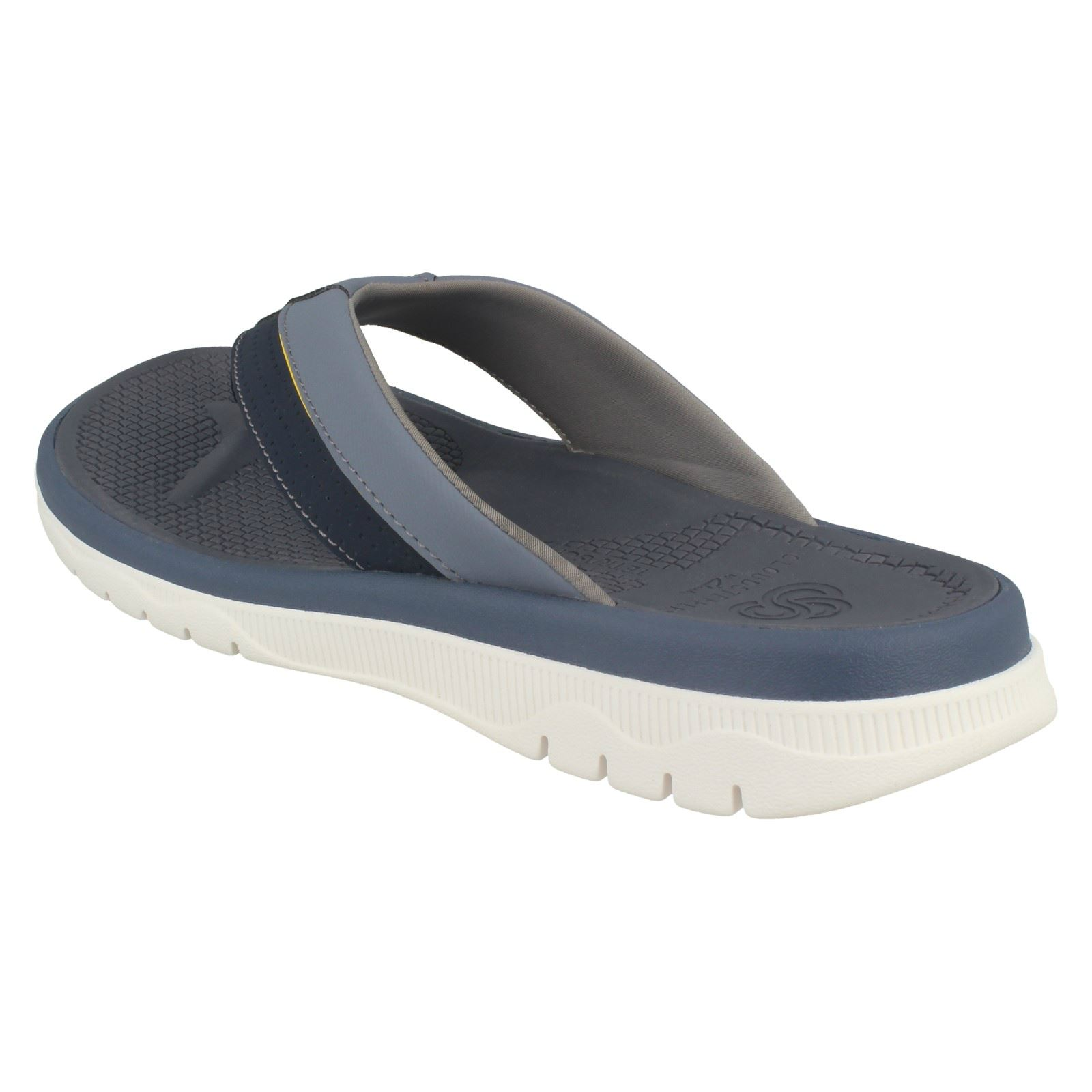 Mens Slip Cloudsteppers by Clarks Toe Post Slip Mens On Sandals Balta Sun 28b3ae
