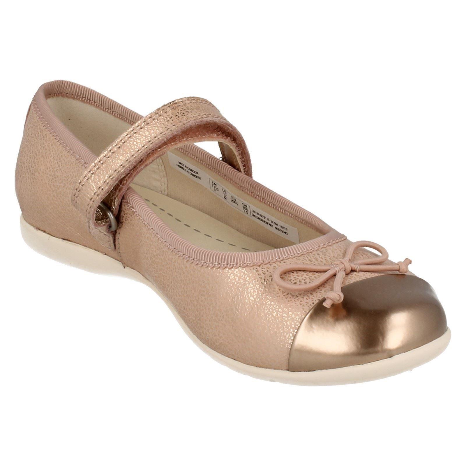 Infantil Chicas Clarks Zapatos Estilo Ballet Danza Mad