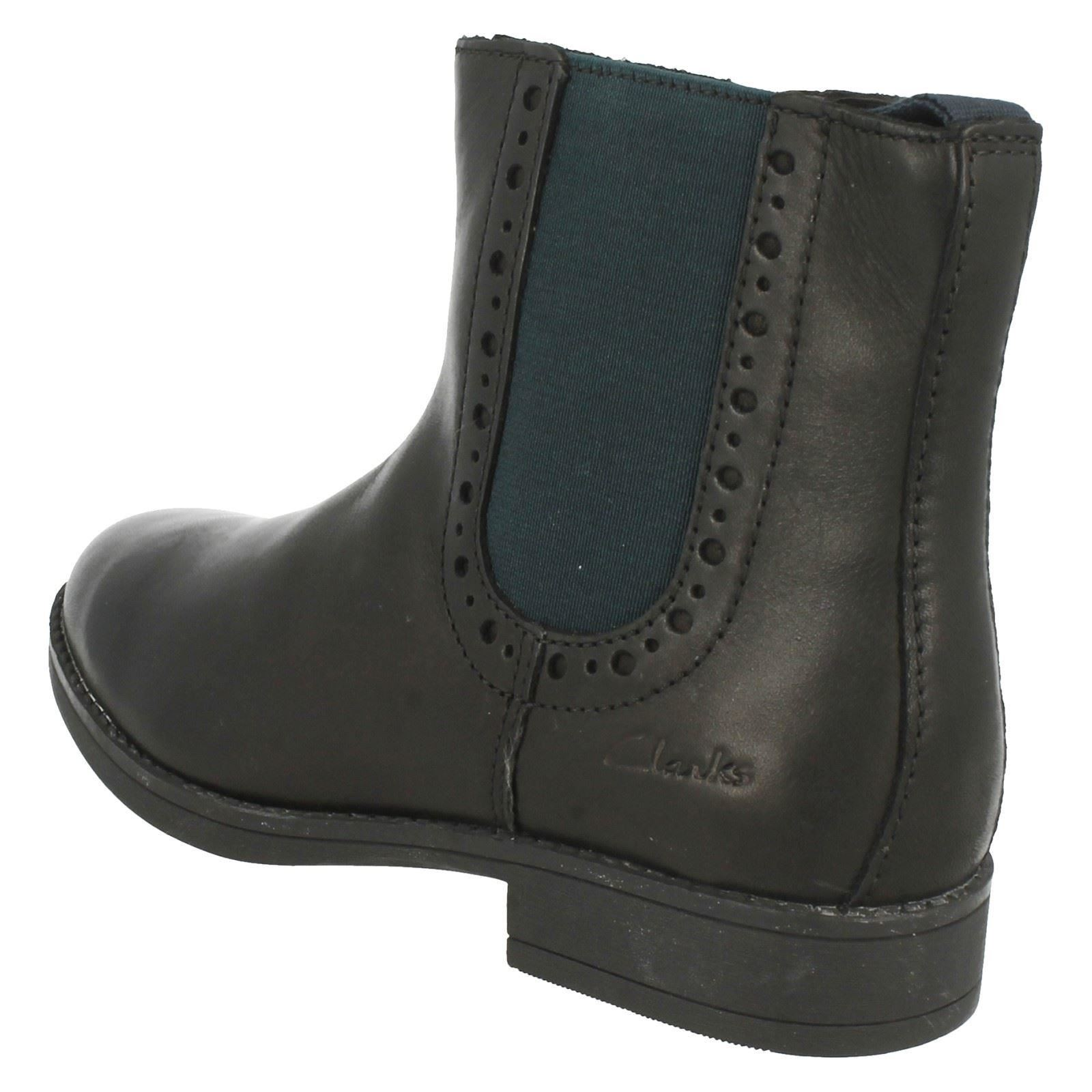 336411d4905 Details about Girls Clarks Ankle Boots Sami Twirl