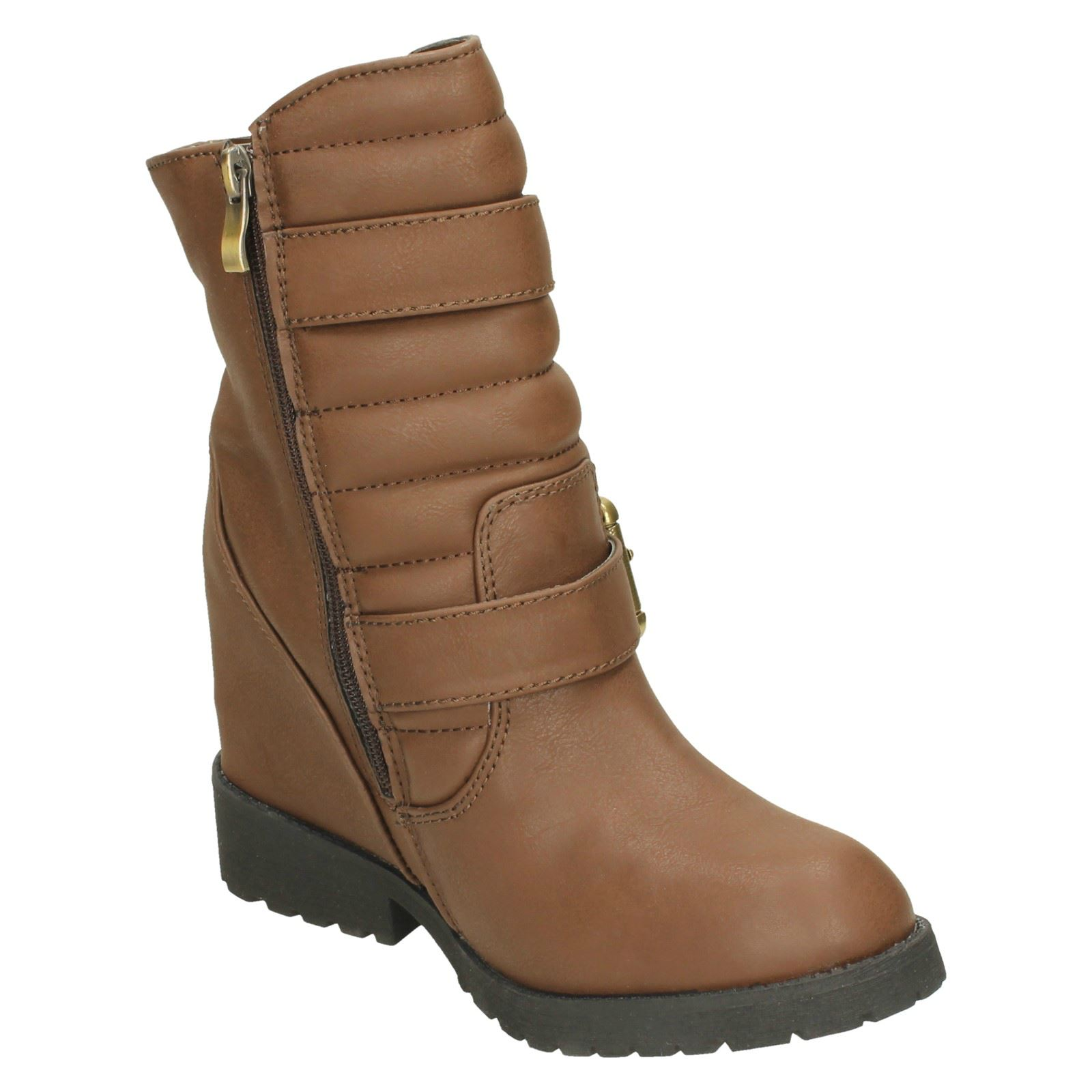 Ladies-Spot-On-Ankle-Boots