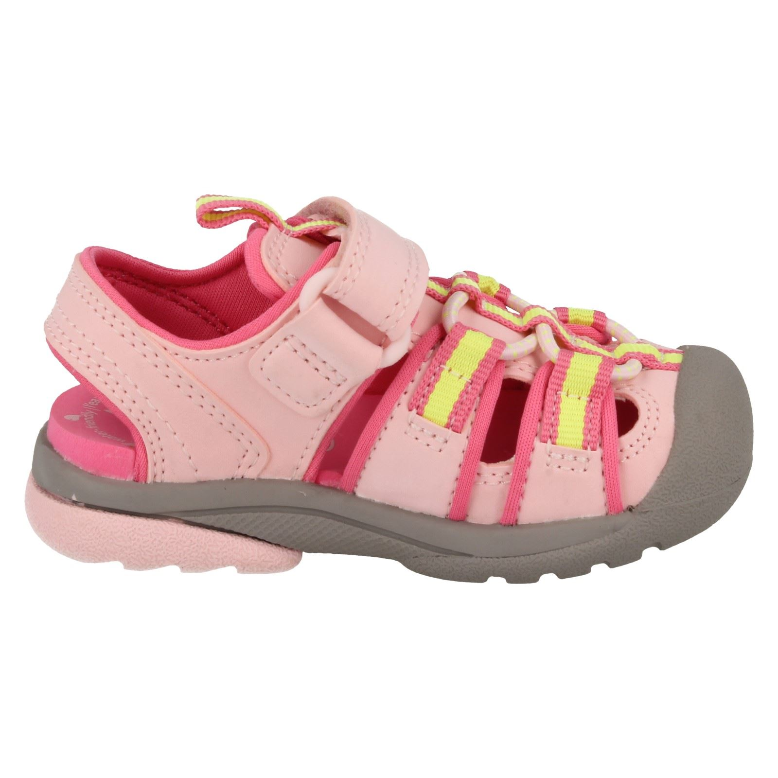 Boys Infant/Junior Clarks' Rounded Closed Toe Sandals - Beach Tide