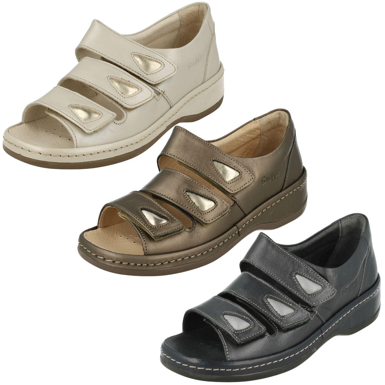 Sandpiper Carol Ladies Navy Sandals UK Sizes 3 /& 4 R43A