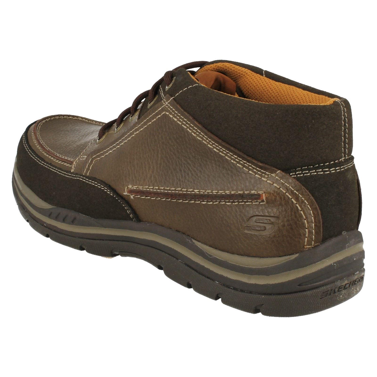 Mens Skechers Relaxed Fit Memory Foam