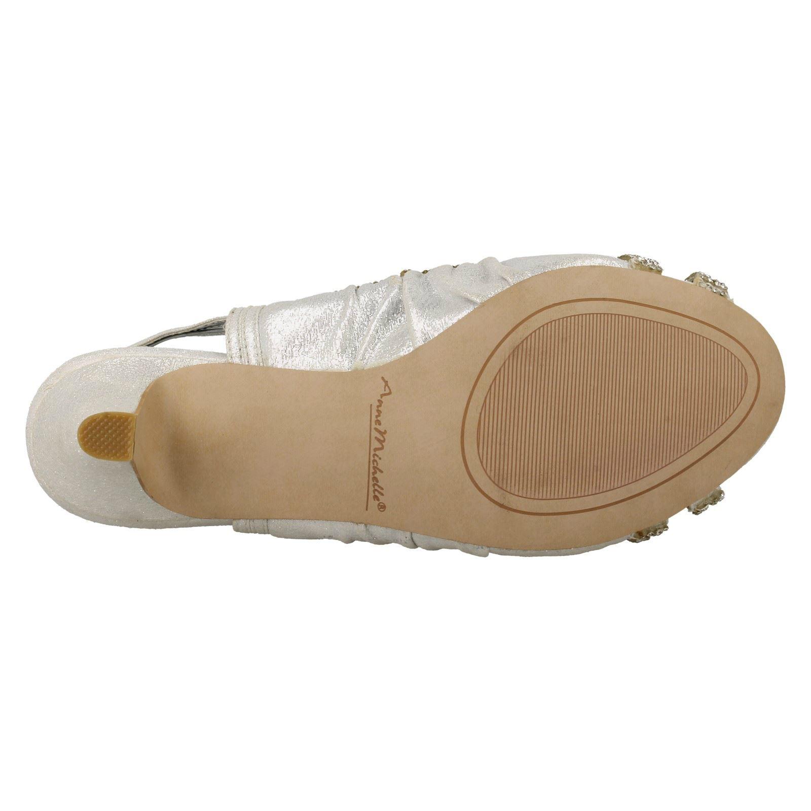 Ladies-Anne-Michelle-Sling-Back-Peep-Toe-Sandals