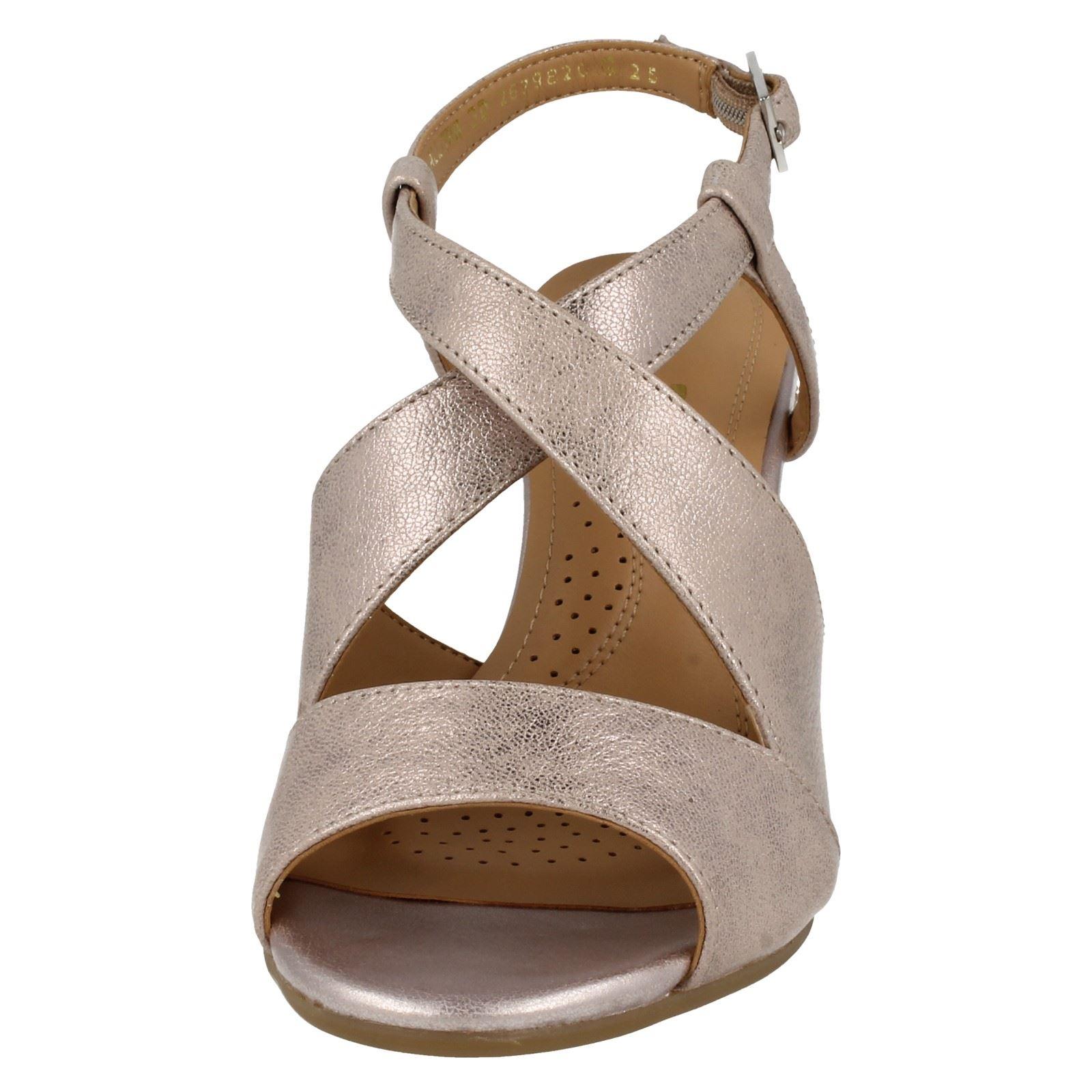 Ladies-Van-Dal-Cross-Strap-Wedged-Sandal-Allora thumbnail 6