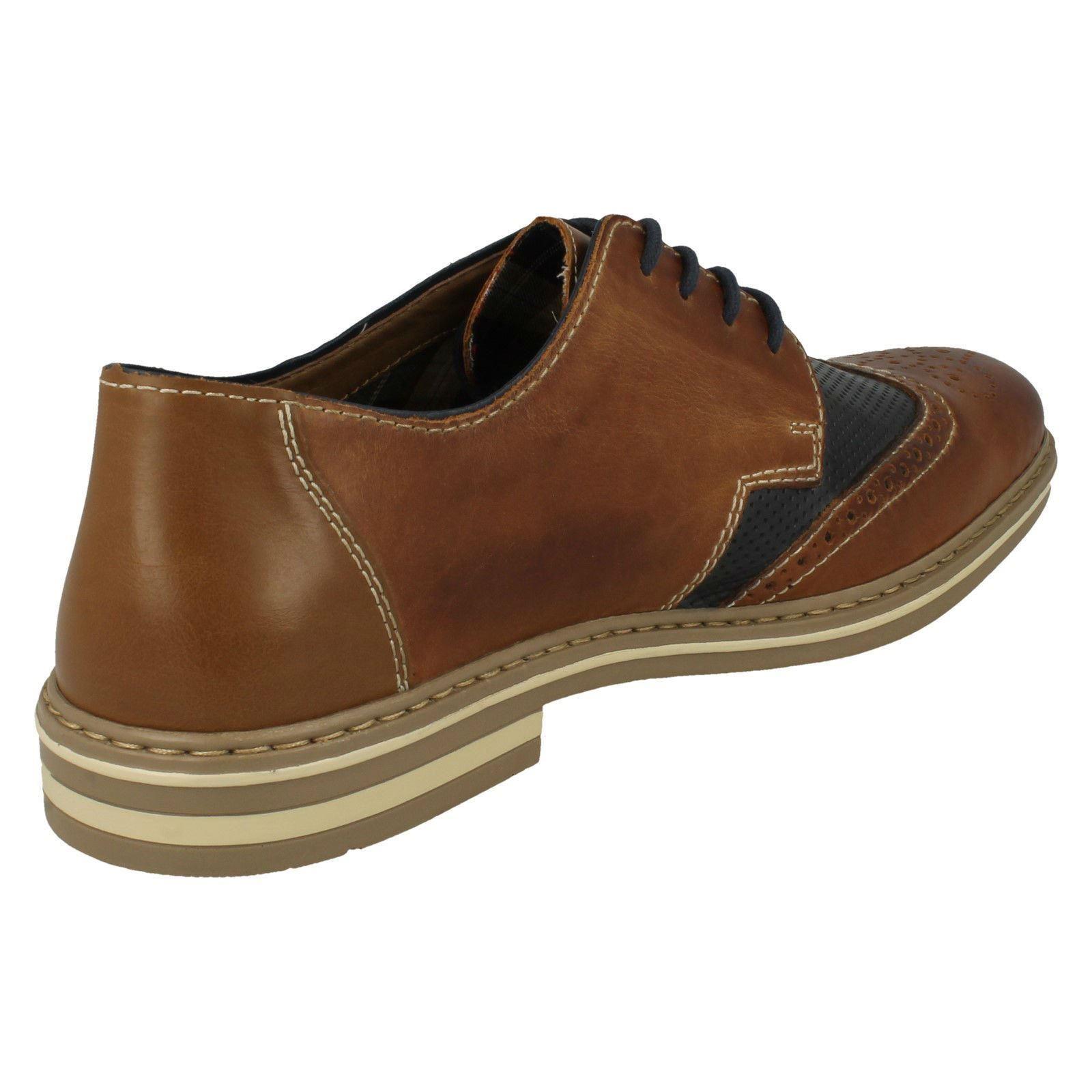 Mens Rieker Lace Up Shoes Brogue Shoes Up B14B8 8c7a86