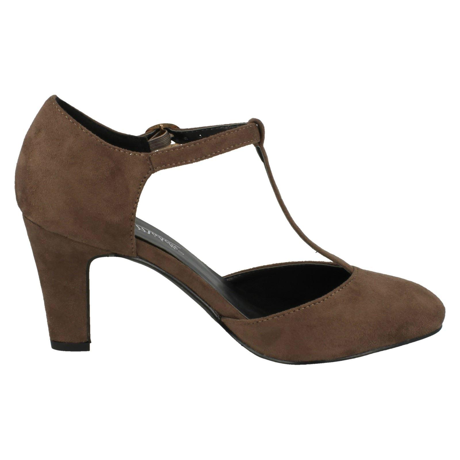 Ladies-Anne-Michelle-T-Bar-Smart-Shoes thumbnail 43