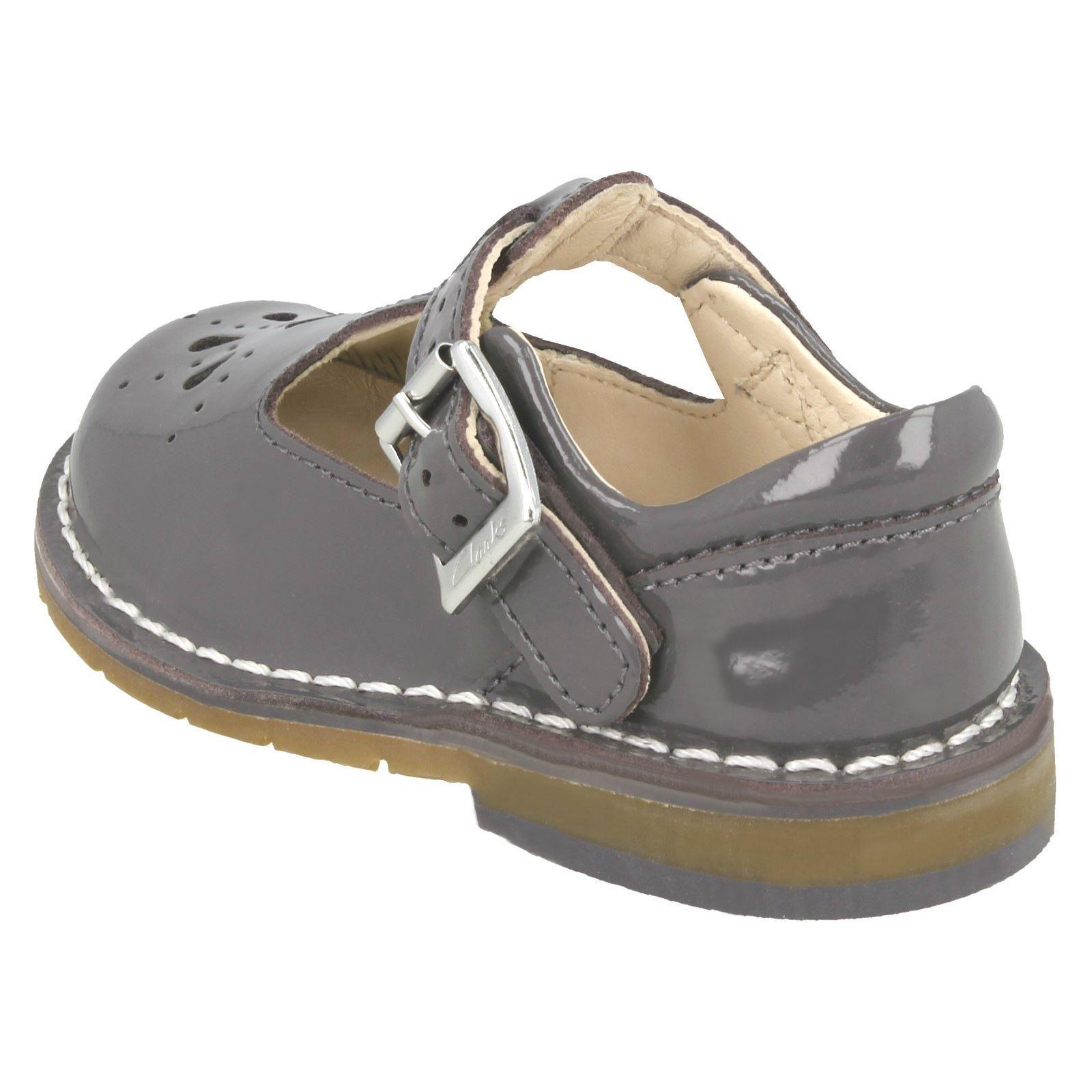 Chicas Clarks Zapatos Informales Inteligentes primera Tejido Hilo