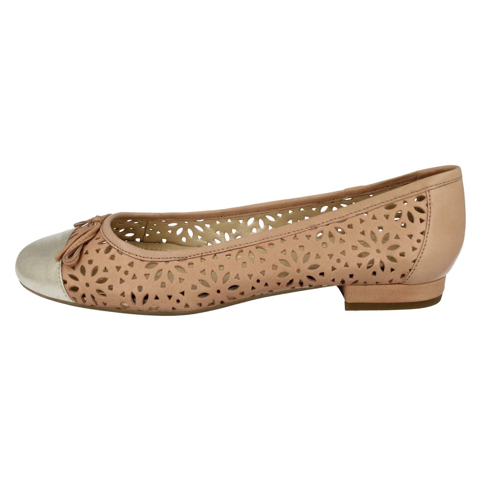 oro plateau rosa Slip con Dal rosa On Ladies pelle Van Tahoe e Elegante in ballerina 78t7Ox