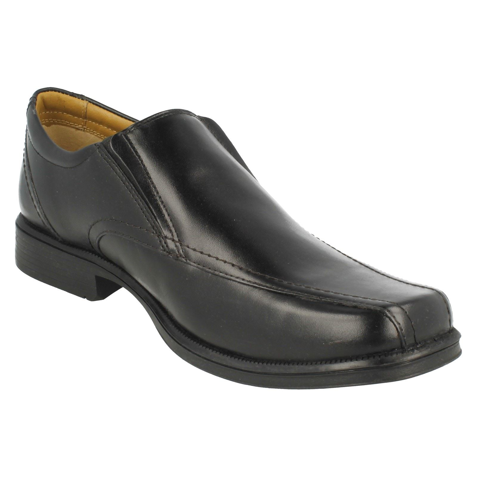 Mens Clarks Slip On Shoes Hatche Tough