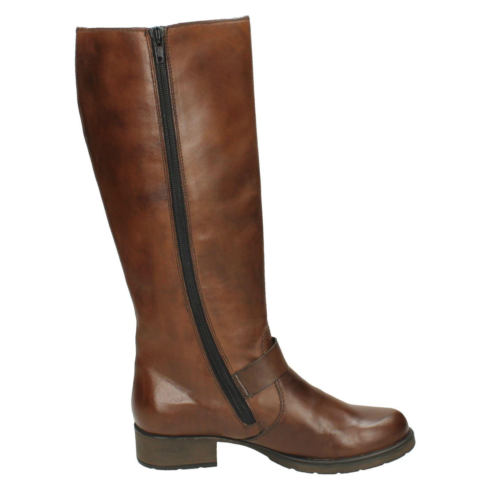 neueste Kollektion Beförderung gute Qualität Details about Ladies Rieker Knee Length Boots Z9580