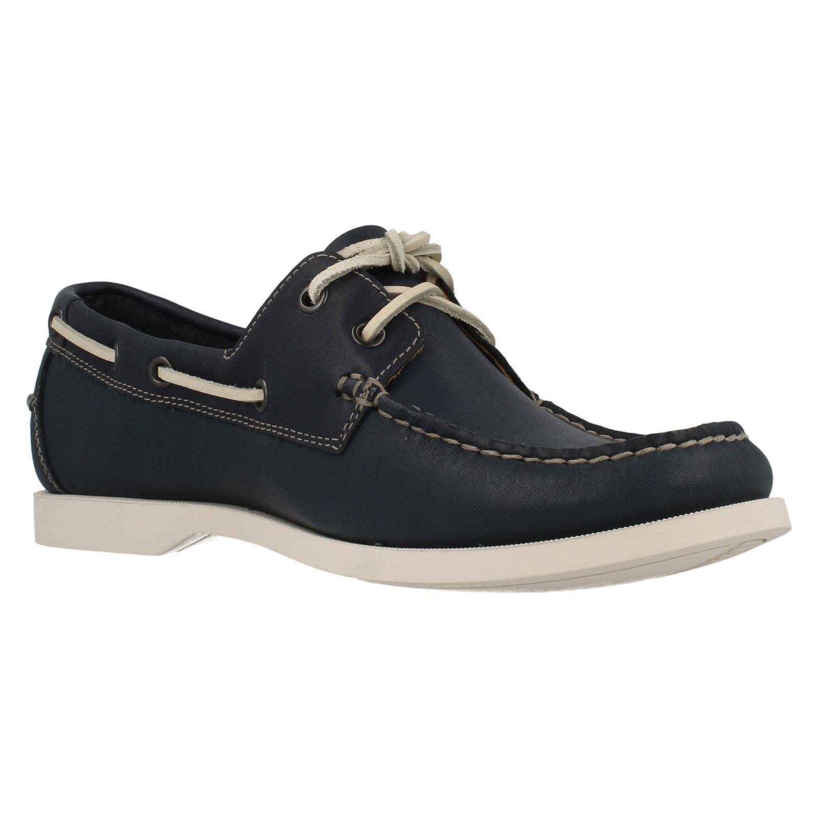 Hombre Clarks Deck Deck Deck Style Zapatos Nautic Bay d97c0b