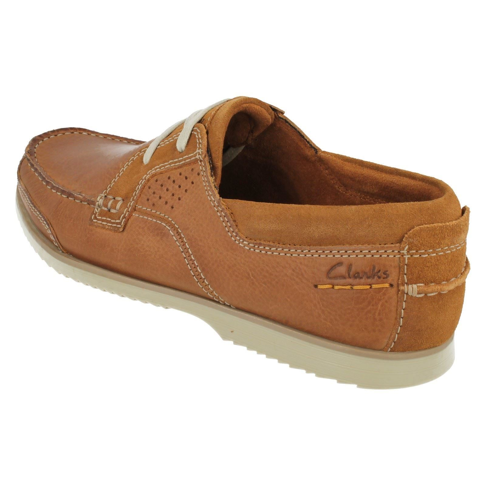 Uomo Clarks Schuhes Casual Deck Schuhes Clarks Kendrick Sail 2ec73a