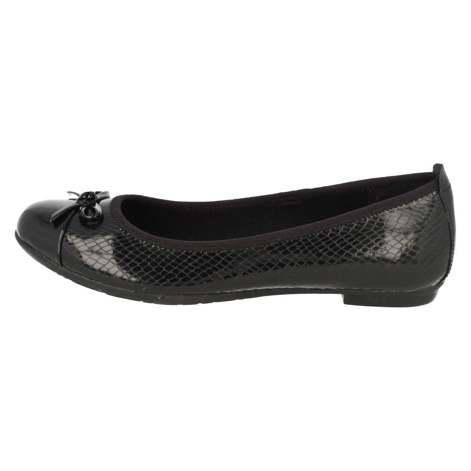 Senior Girls Bootleg by Clarks Slip On Shoes Tizz Hope