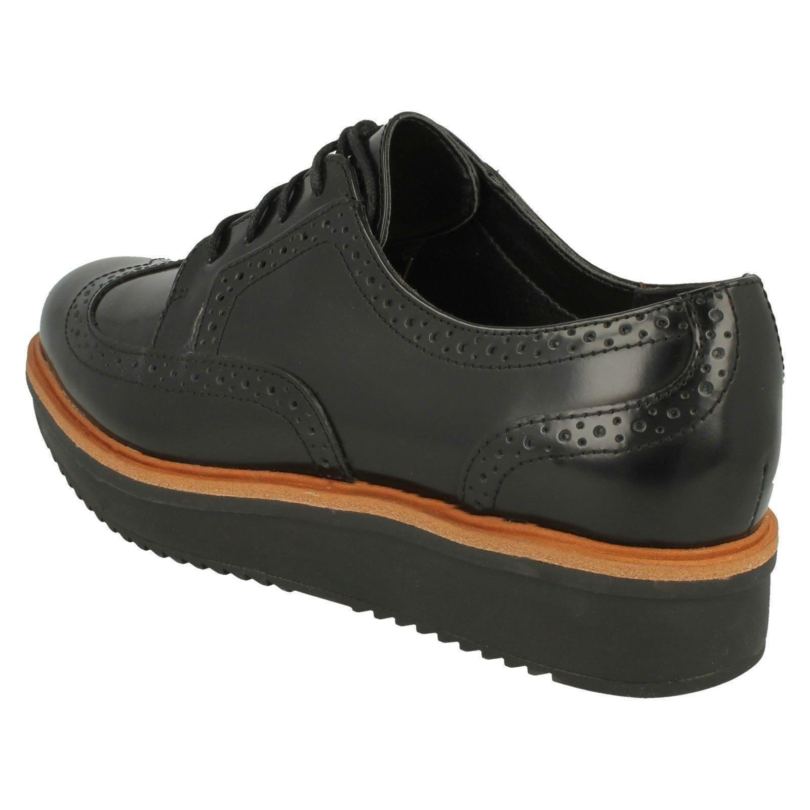 Ladies Clarks Casual Lace-Up Brogue Style shoes shoes shoes Teadale Maira efb933