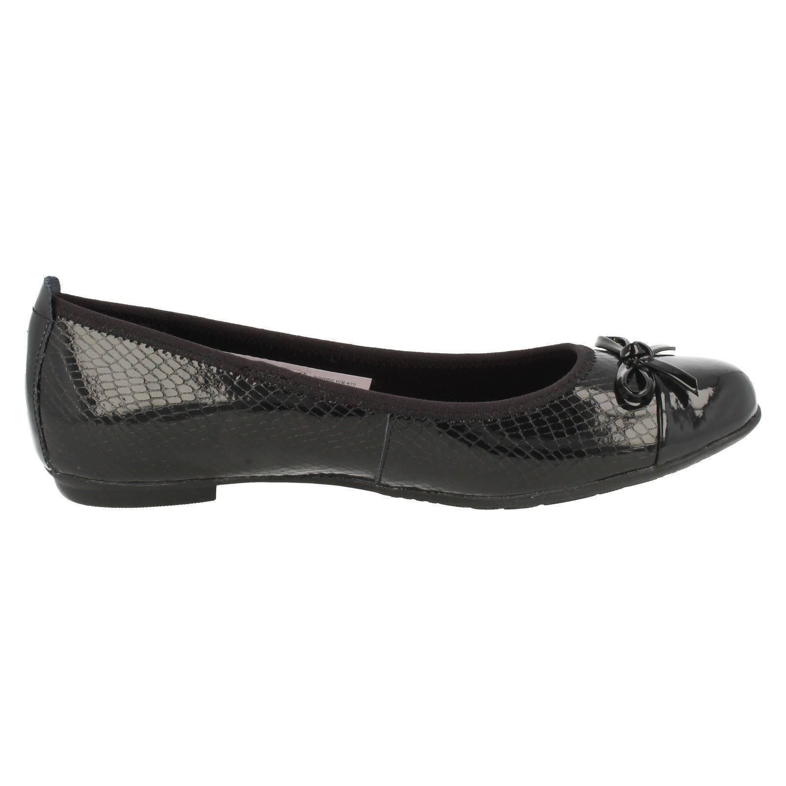 Senior Girls Bootleg by Clarks School Shoes Tizz Hope