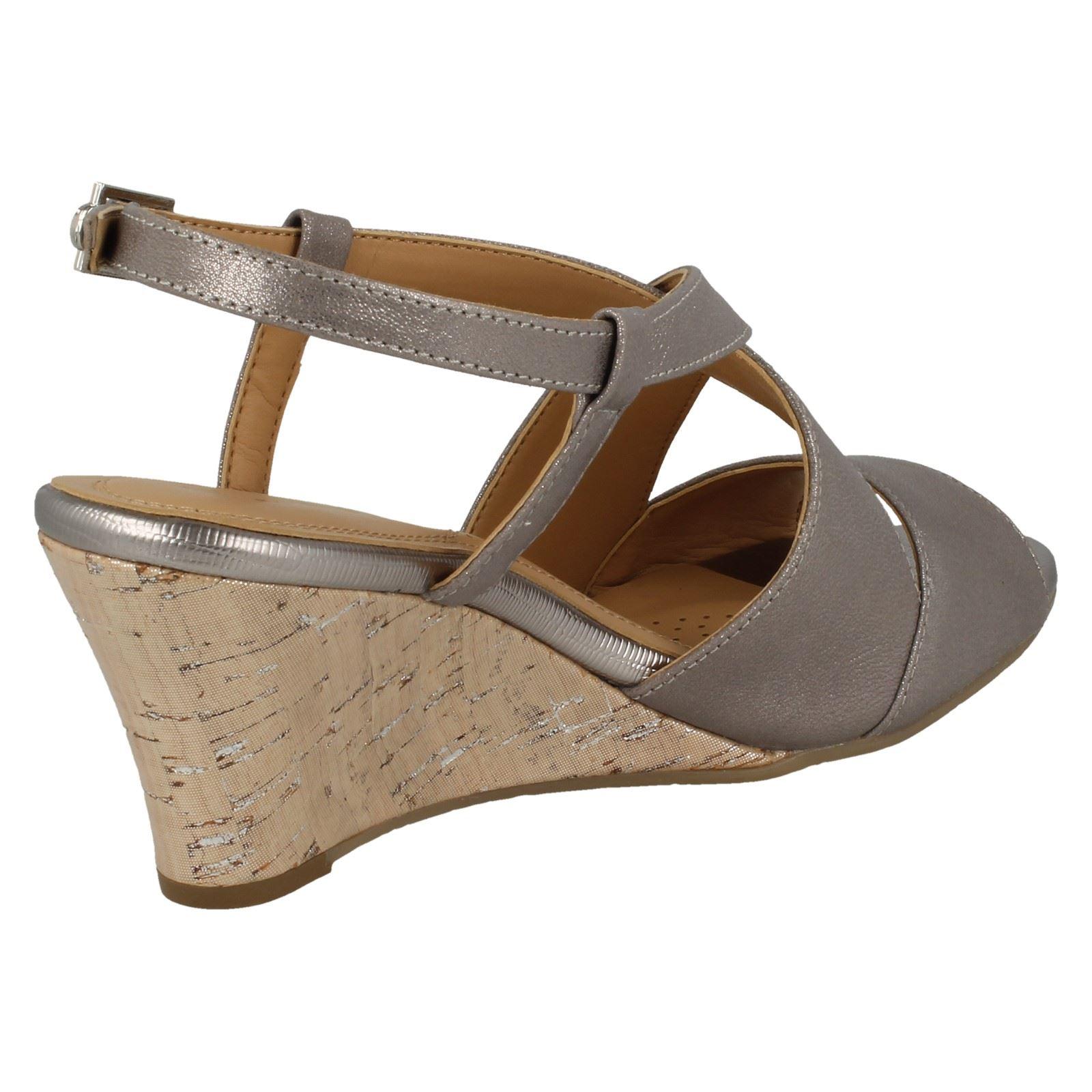 Ladies-Van-Dal-Cross-Strap-Wedged-Sandal-Allora thumbnail 26