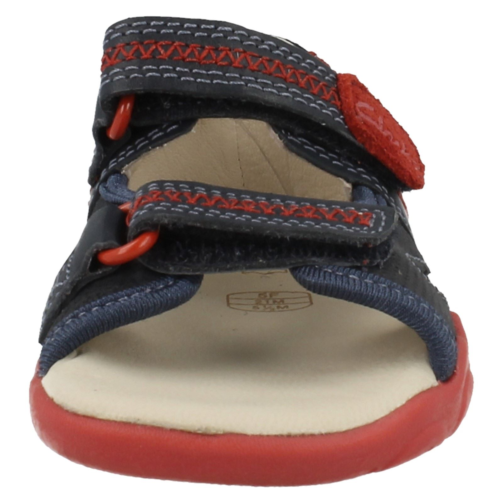 Clarks Boys First Sandals With Riptape Fastening - Softly Rhys