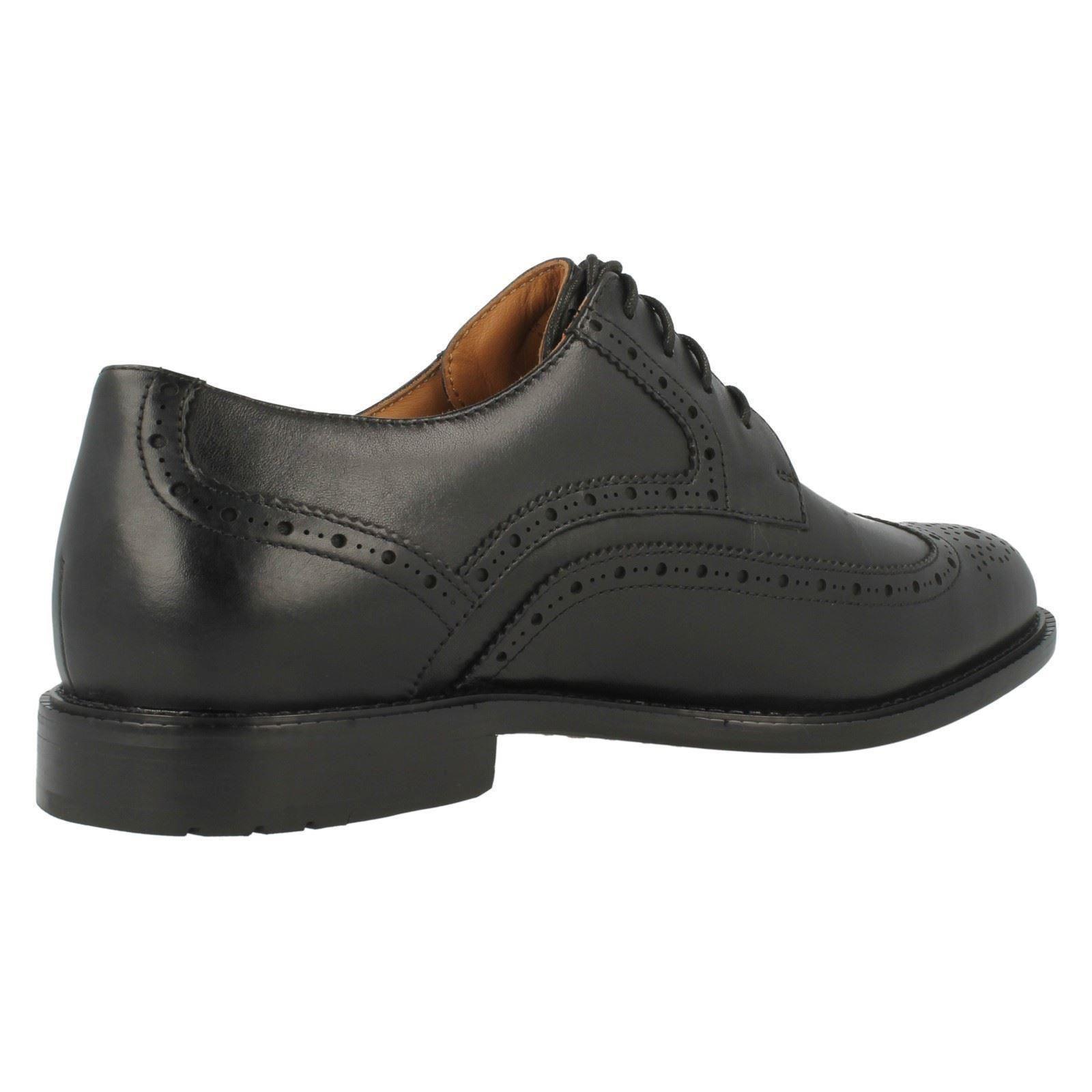 Mens Clarks Formal Lace Up Brogue Shoes Shoes Shoes Dorset Limit 3948ae