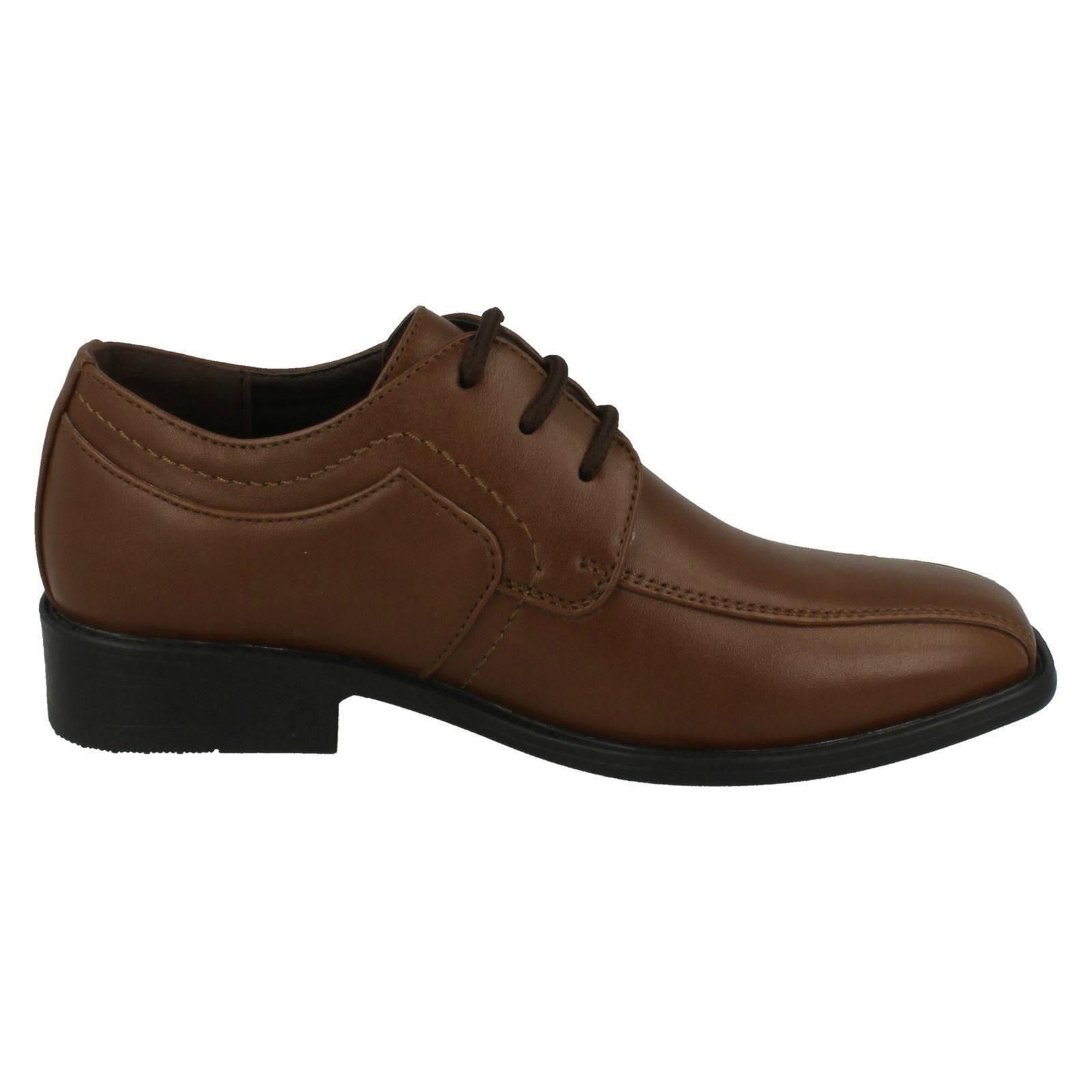 boys jcdees trendy lace up formal shoes 109