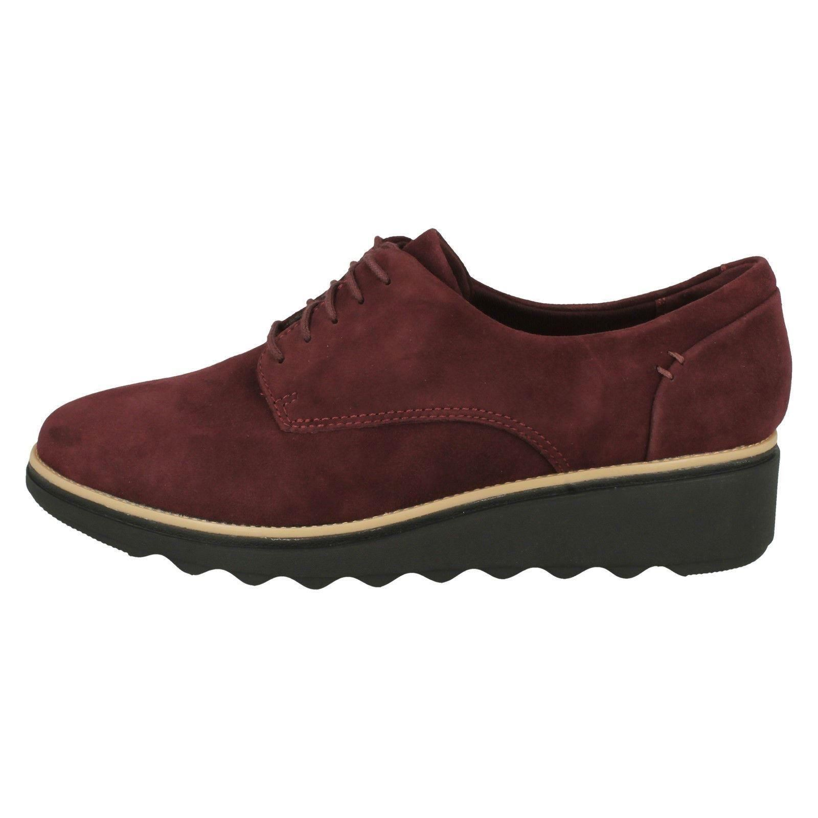 'Ladies Clarks' Smart Lace Up Up Up shoes - Sharon Noel 885a7d