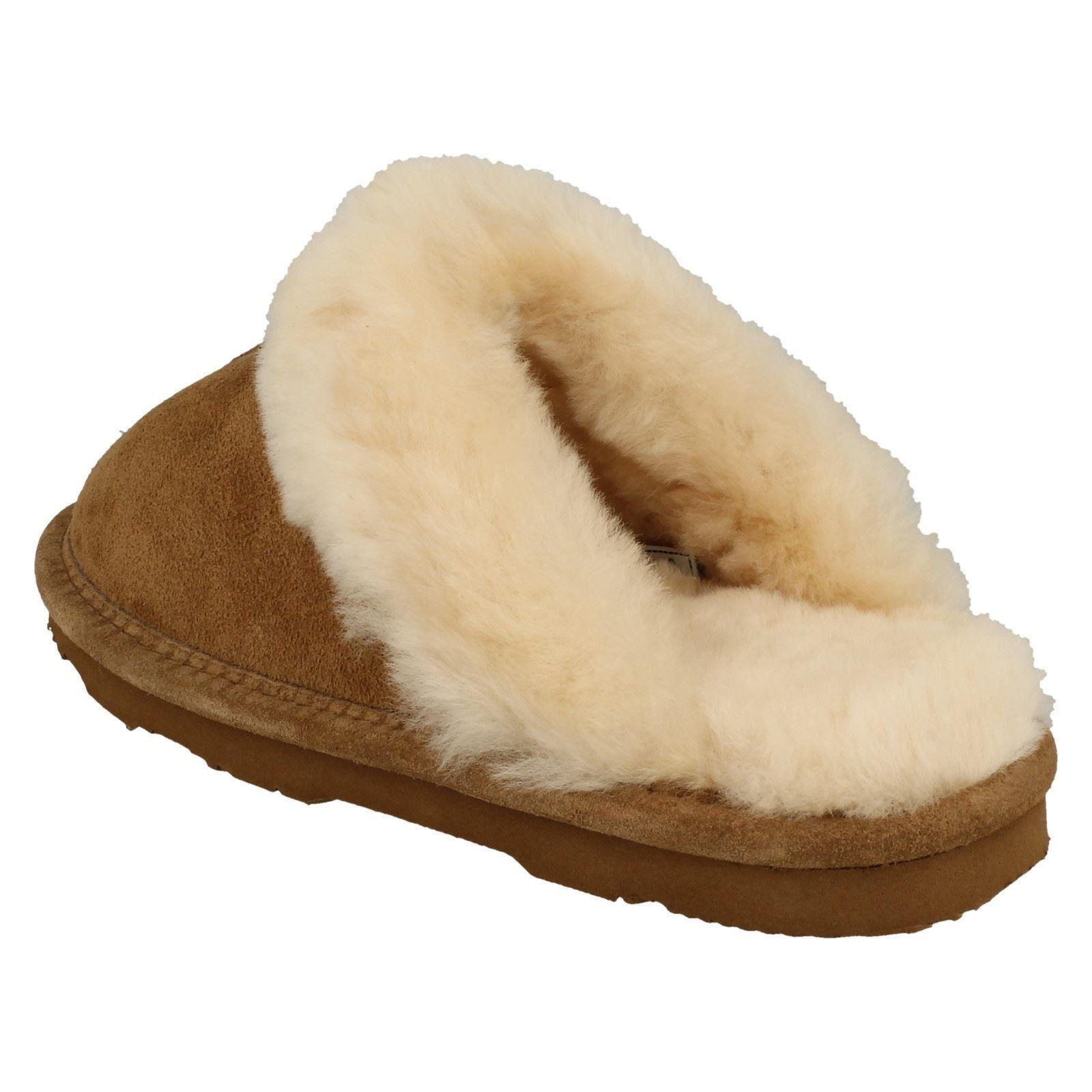 Lined Loki Mule Brown Bear Ii On Paw Slip Comfort Hickory Leather Tøfler Ladies FtqzxOC