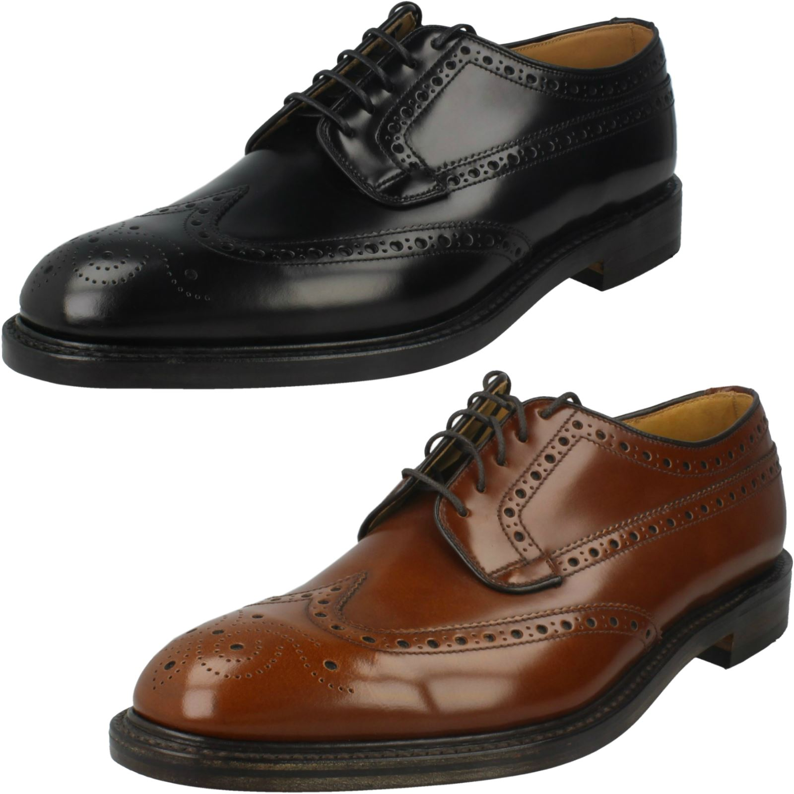 Mens Loake Smart/Formal Brogue Shoes *Braemar*