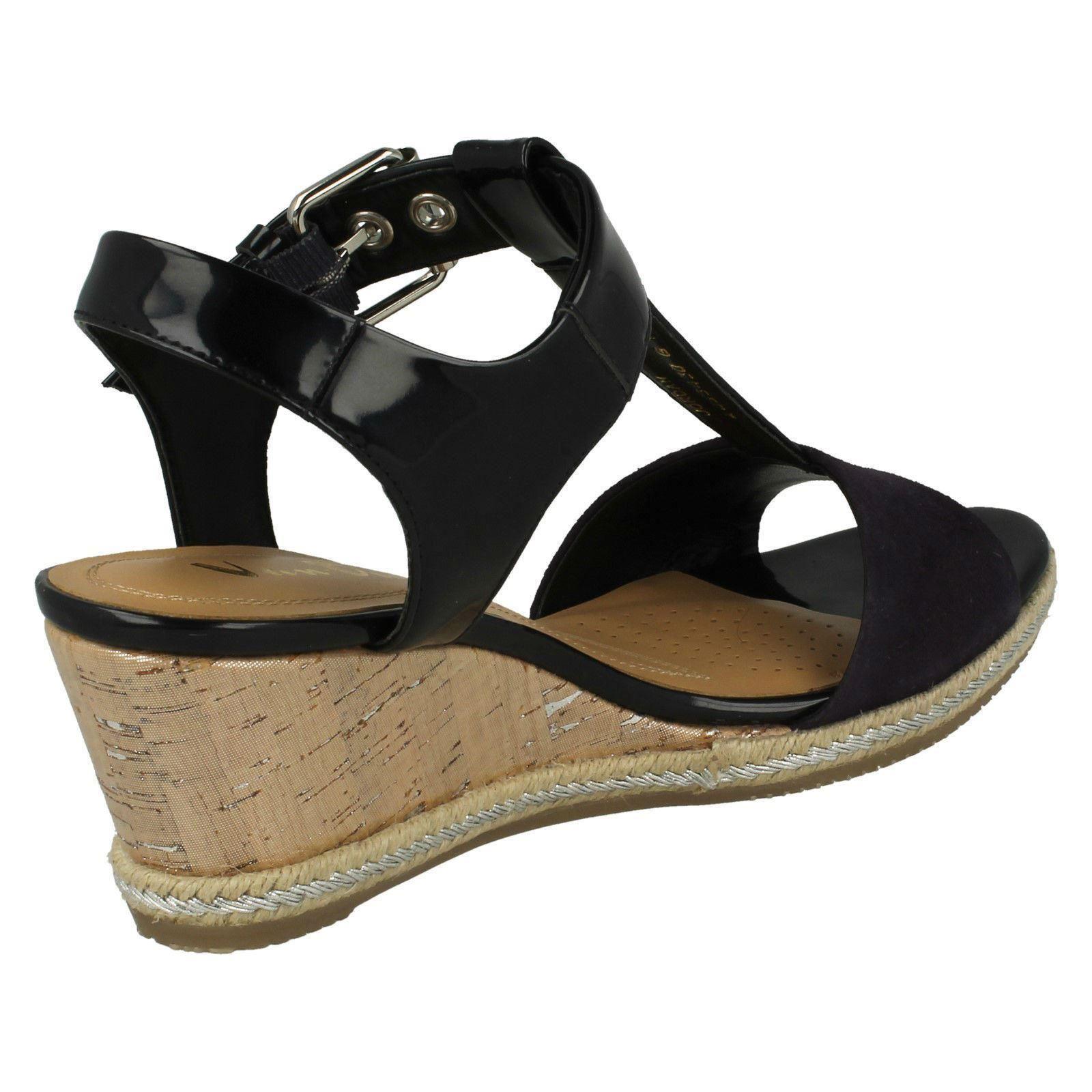 Ladies-Van-Dal-Wedged-Heel-Sandals-Jordan thumbnail 7