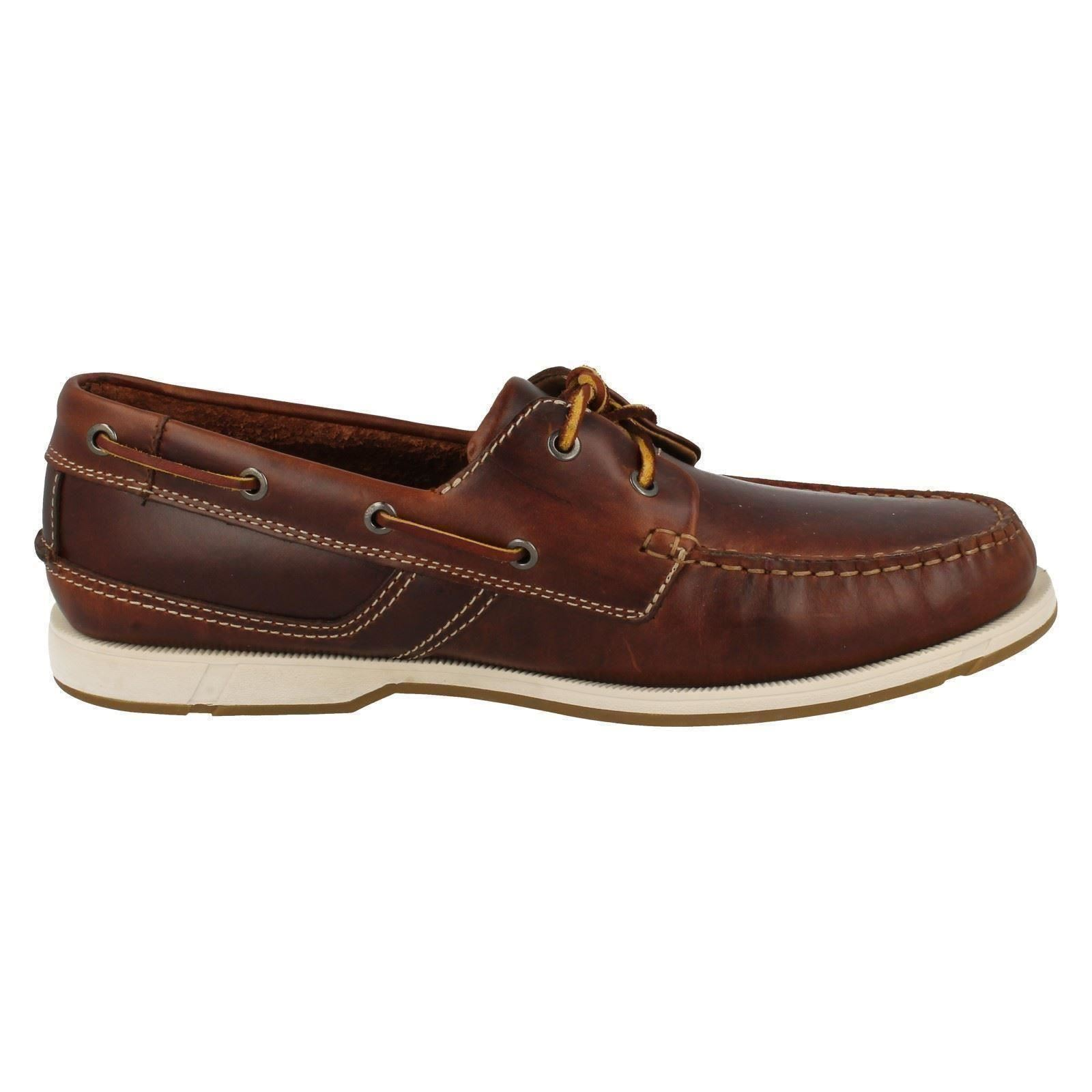 Mens Clarks Deck Style Smart/Casual Shoes Fulmen Row