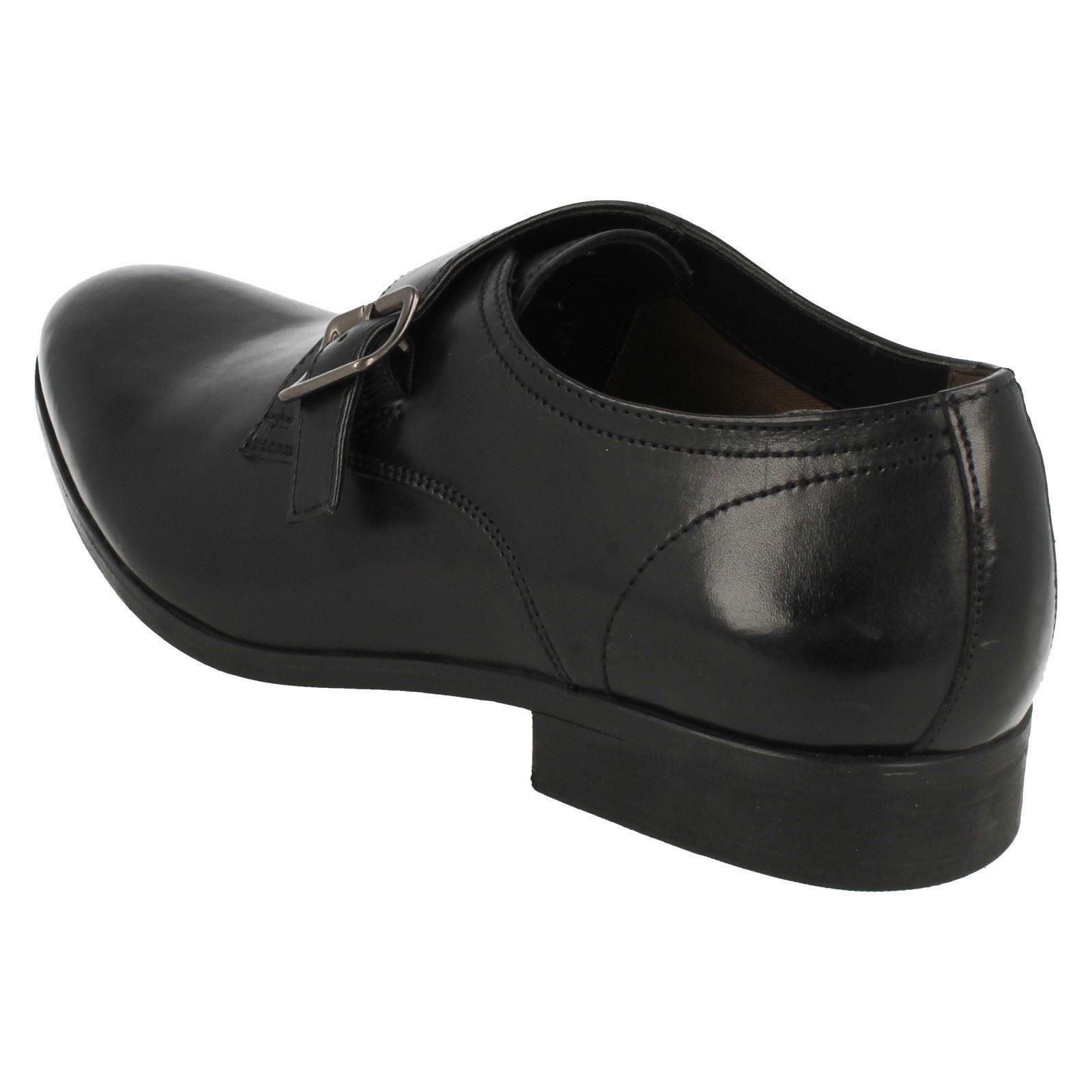 Banfield Tira Detalles Clarks Y Monje Zapatos' De Hebilla Hombre ' bgf67Yy