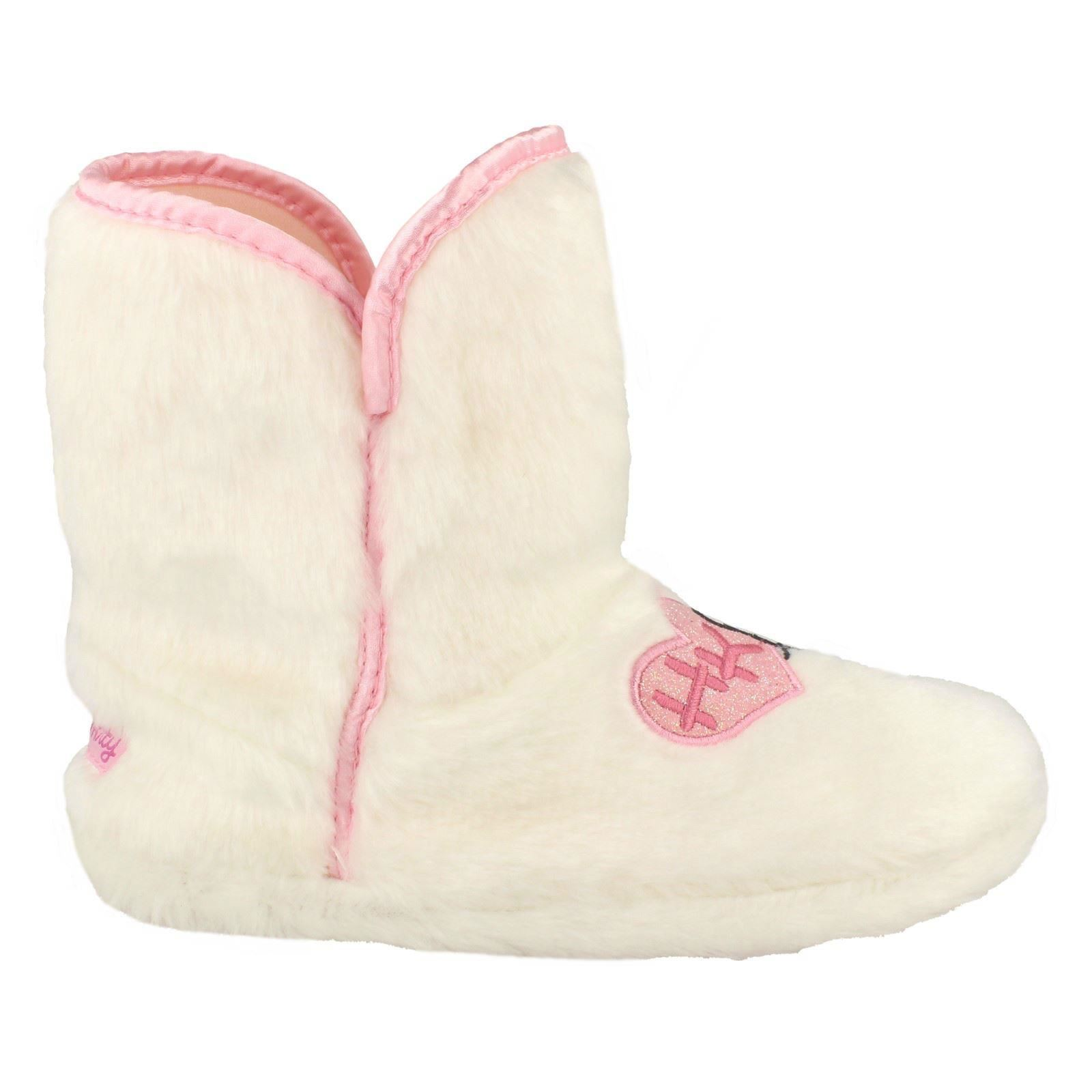 Hello Kitty Girls Fluffy - Bootie Slipper