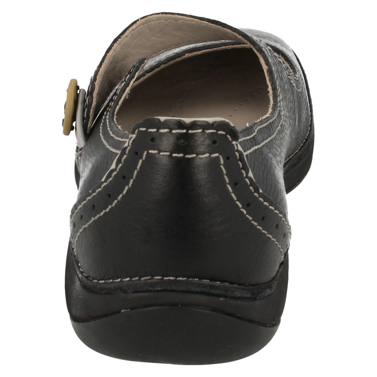 Lake Clarks Black activos Ladies Fairlie Air zapatos planos qqFOHp