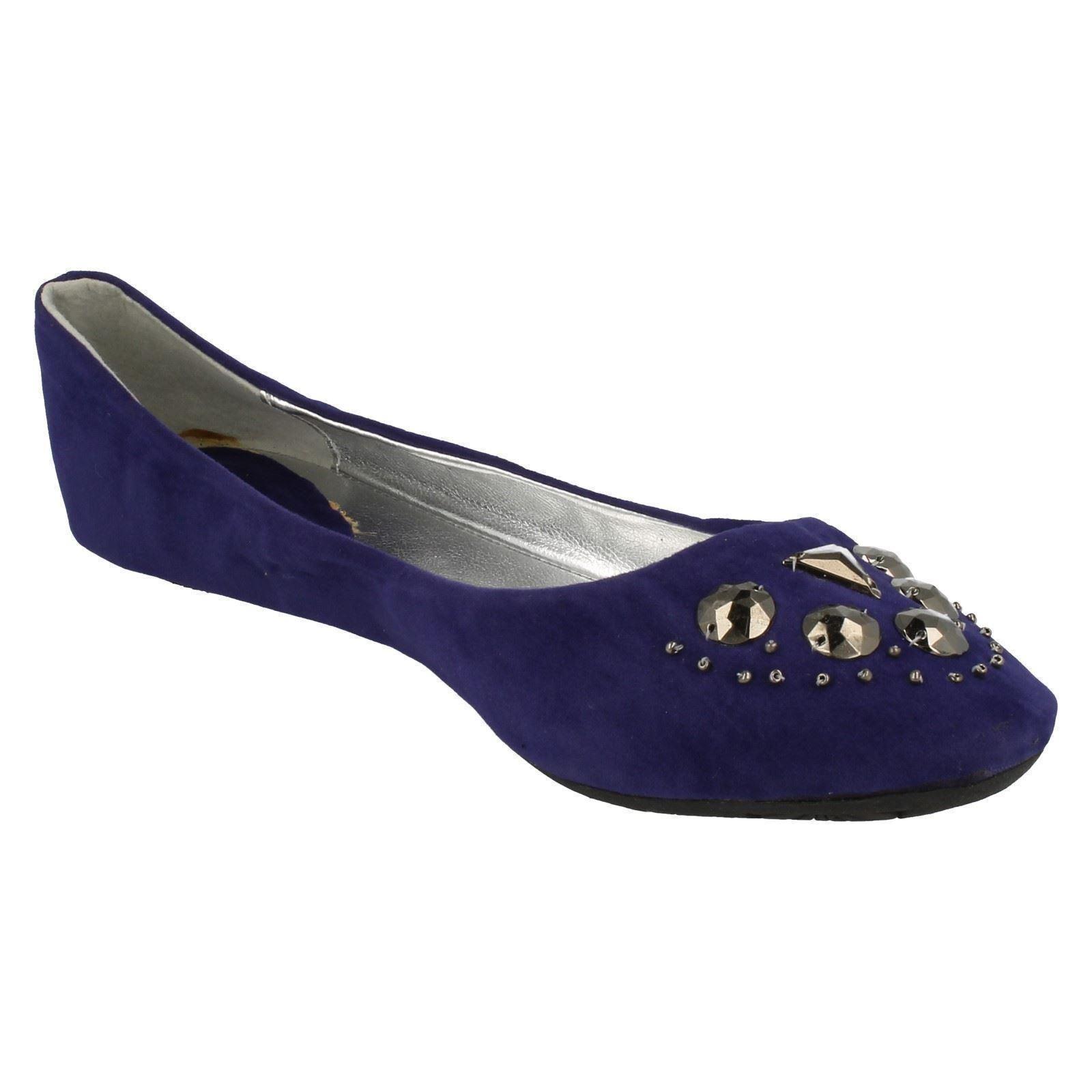Damas Spot on Zapatos Planos Bailarina Estilo F8623