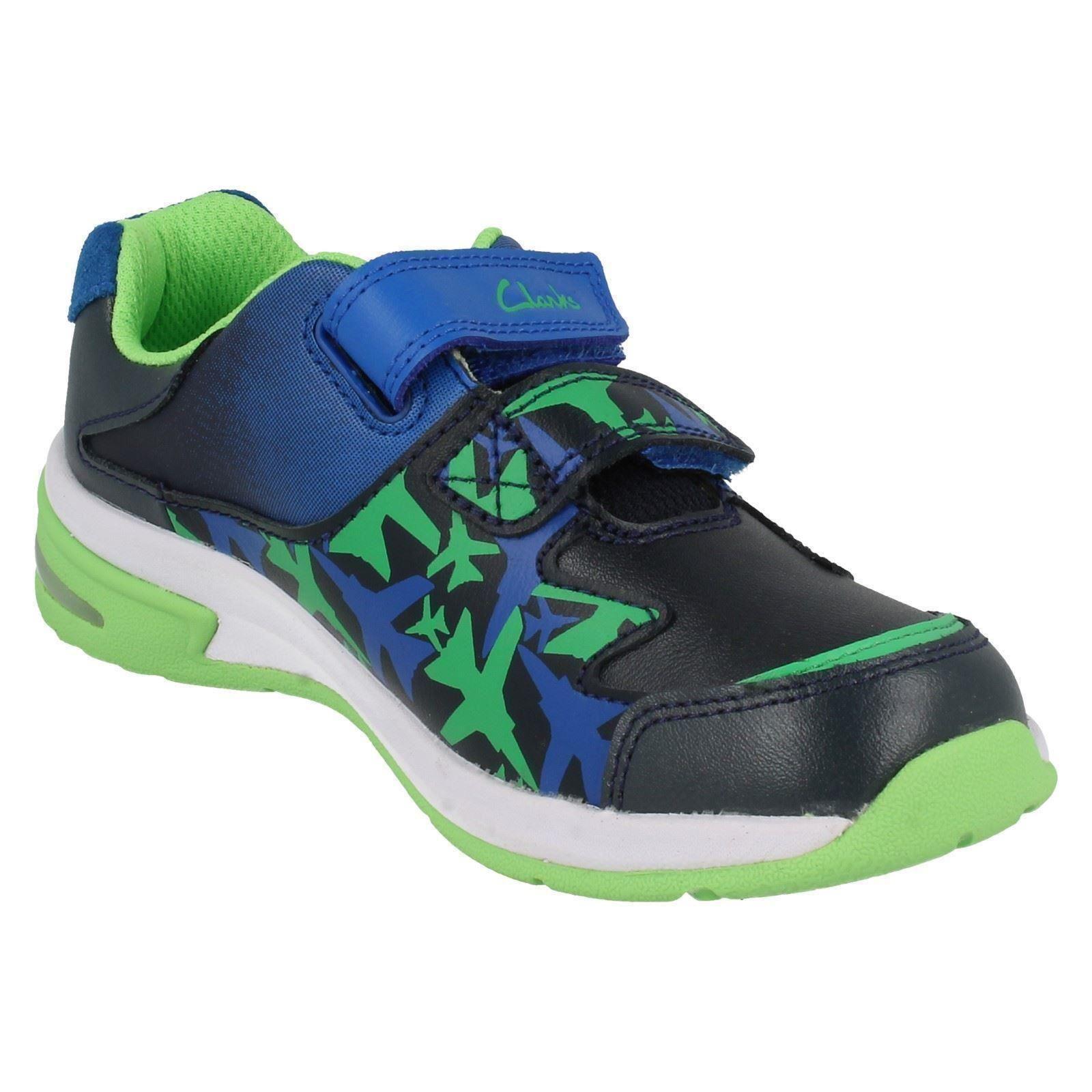 Clarks Fun niños Navy azul By para Cica piper deportivas Zapatillas q4T0w6tT