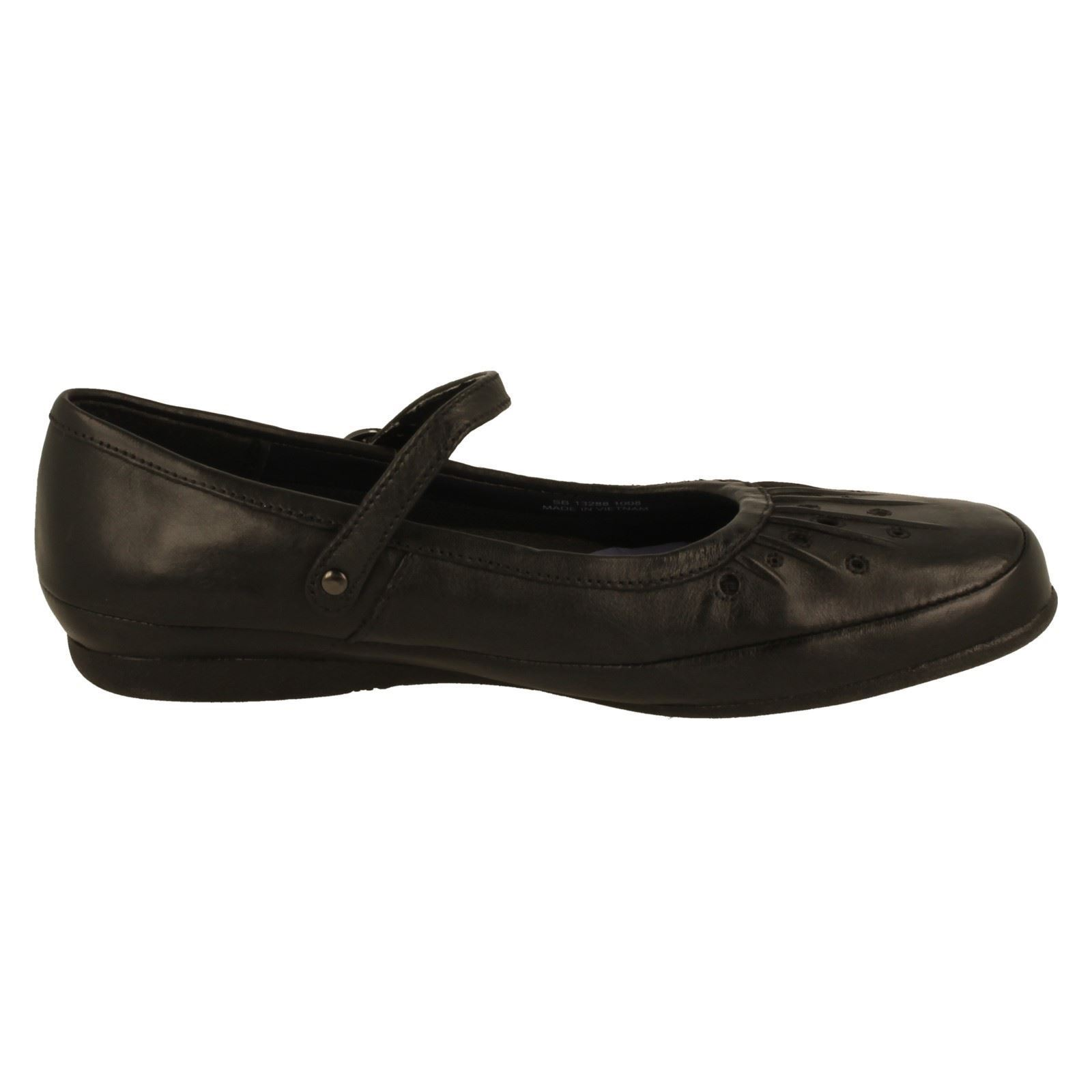 Clarks Girls Mary Jane School Shoes - Hazel