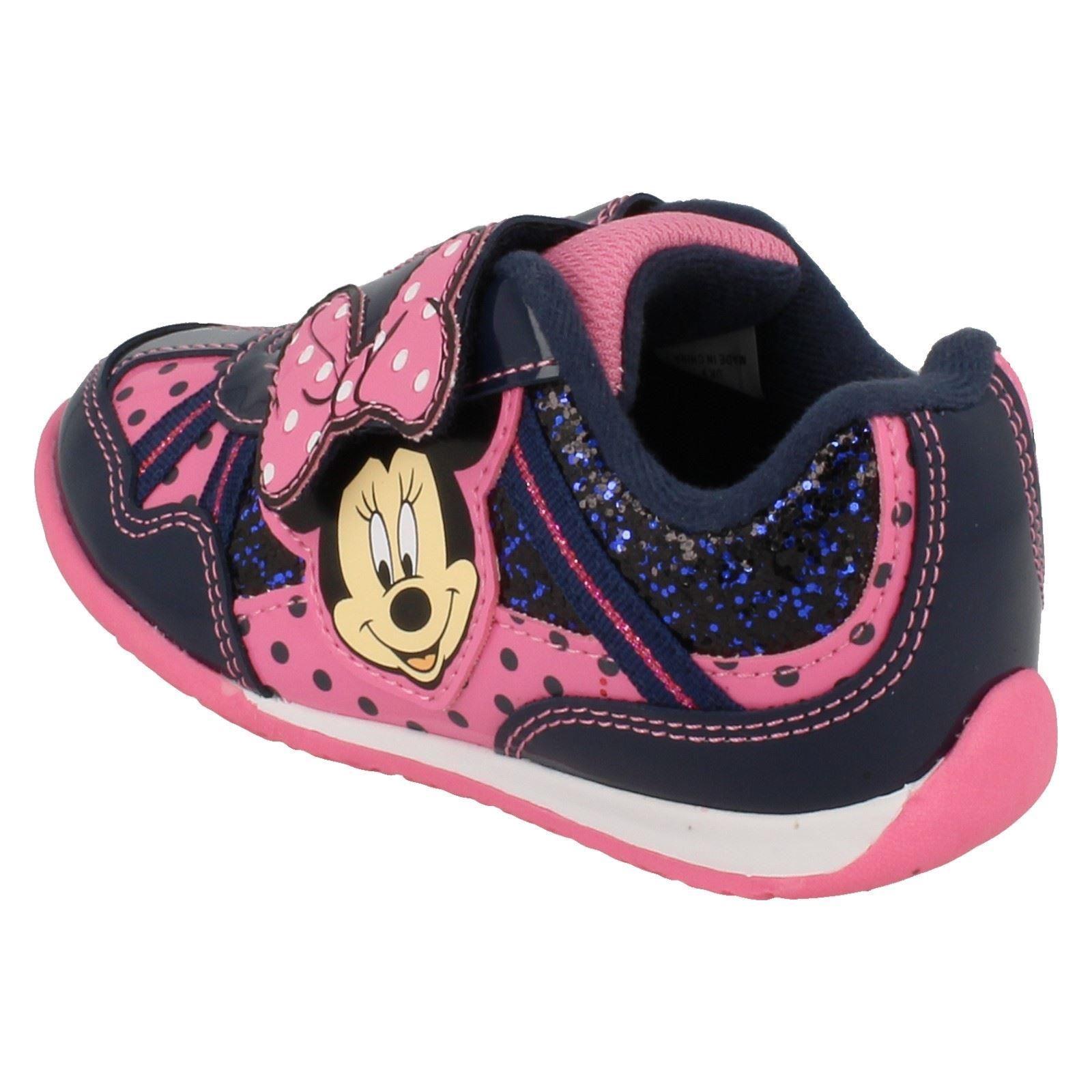 Niñas Minnie Mouse Kensington entrenadores