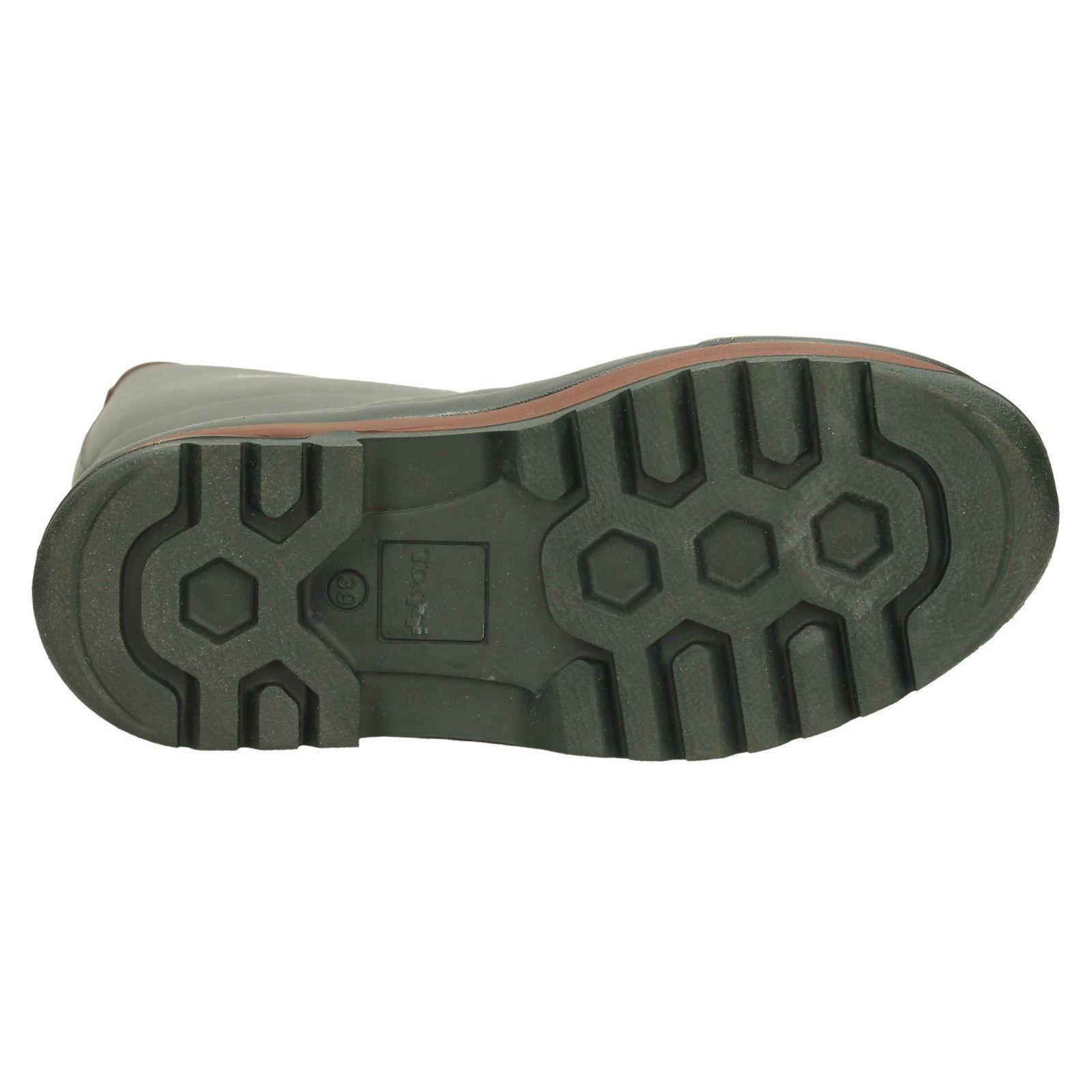Toggi Da Uomo Stivali di gomma-Viandante Green