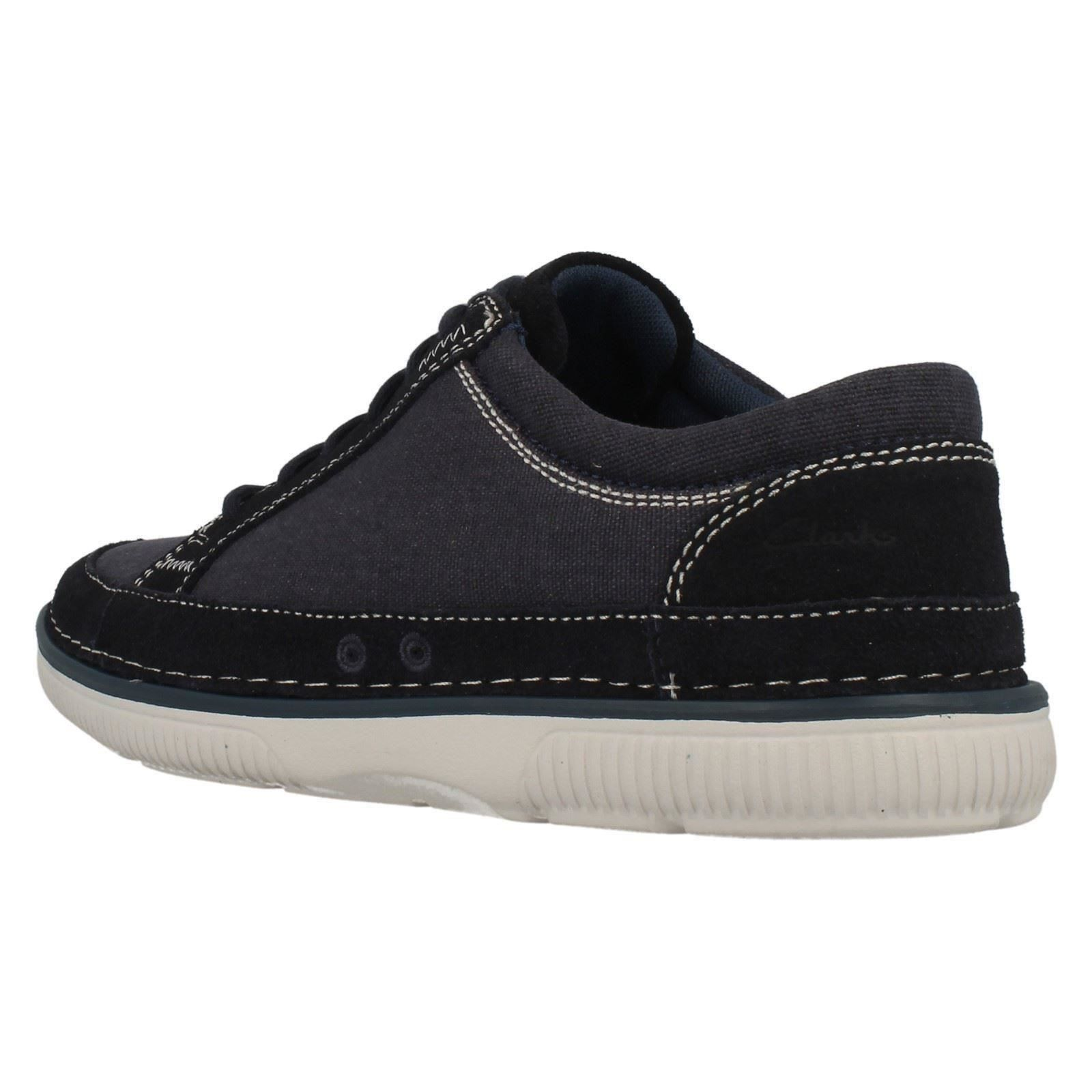Herren Clarks Casual Lace Up Up Up Schuhes Sulley Ollie d35953