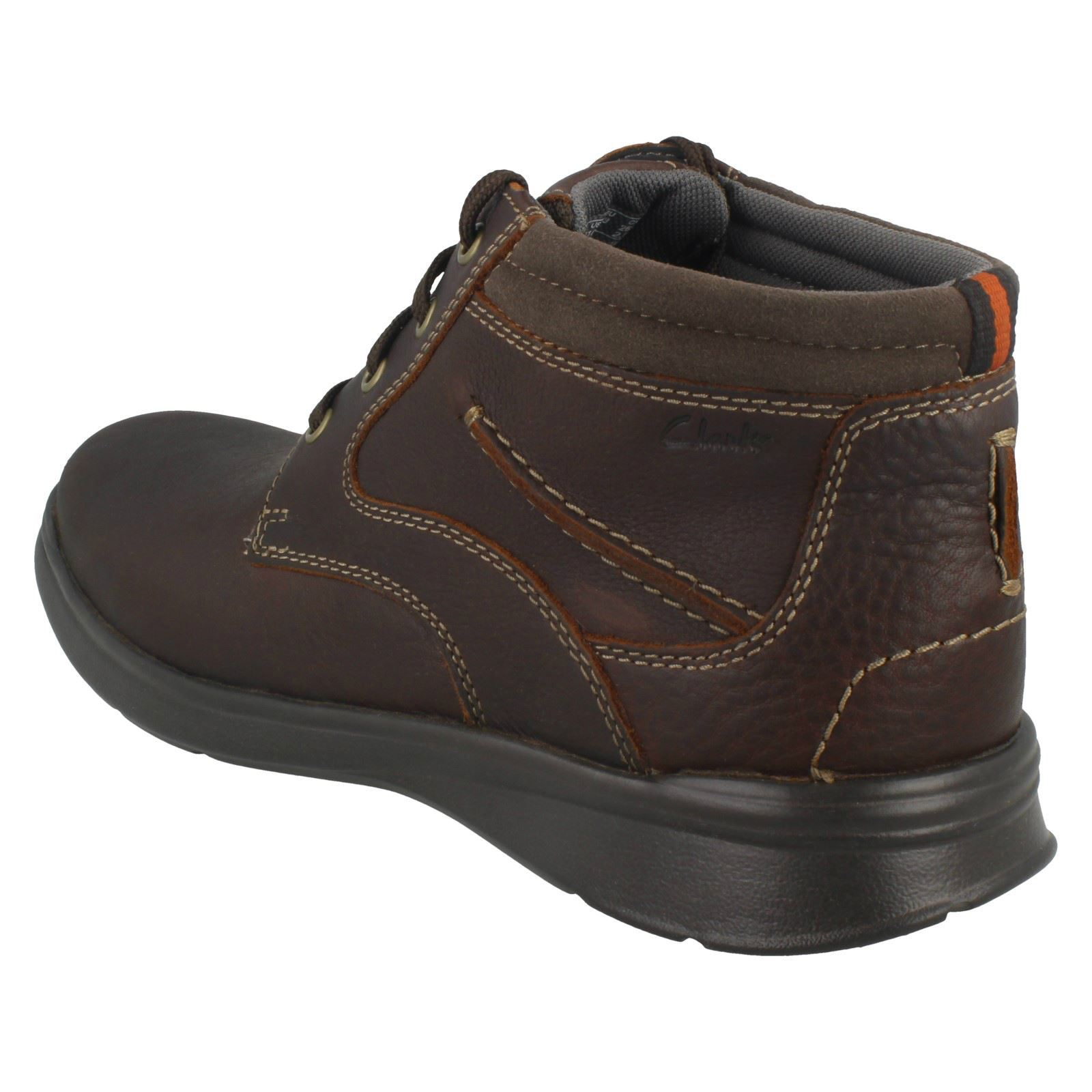 Hombre Clarks Clarks Clarks Cotrell Rise Casual Lace Up Ankle botas 7ffde7