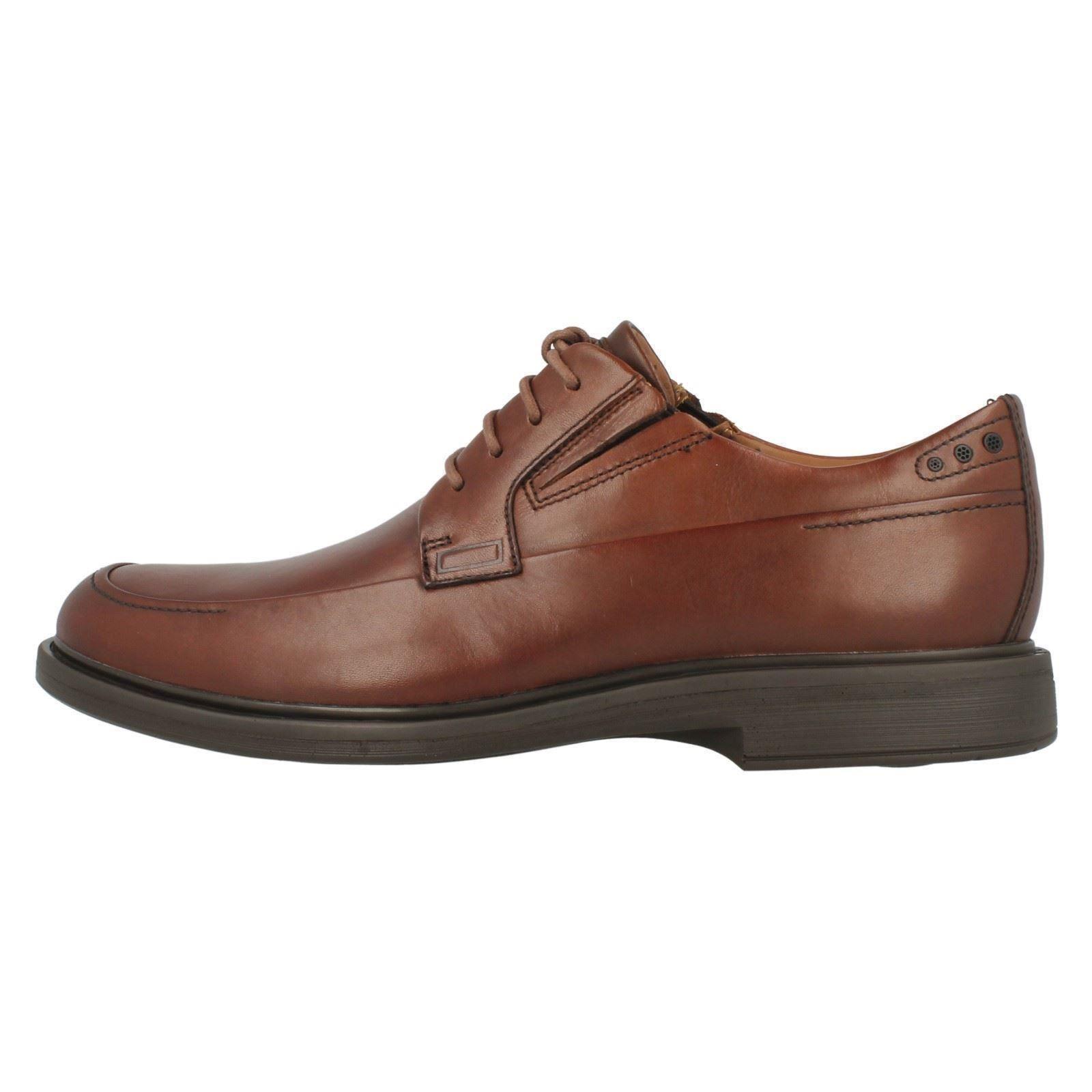 marrón Tan formales Time Zapatos para Drexlar Dark Clarks con cordones hombre zAAv5q0