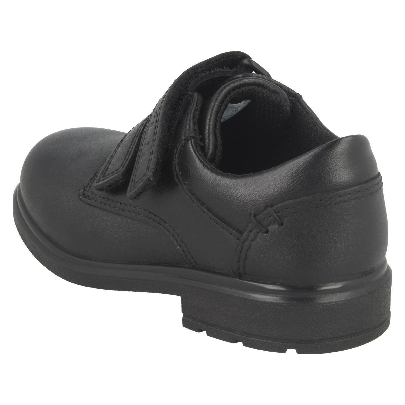 Boys Gloforms By Clarks Double Strap School Shoes /'Maris Fire/'