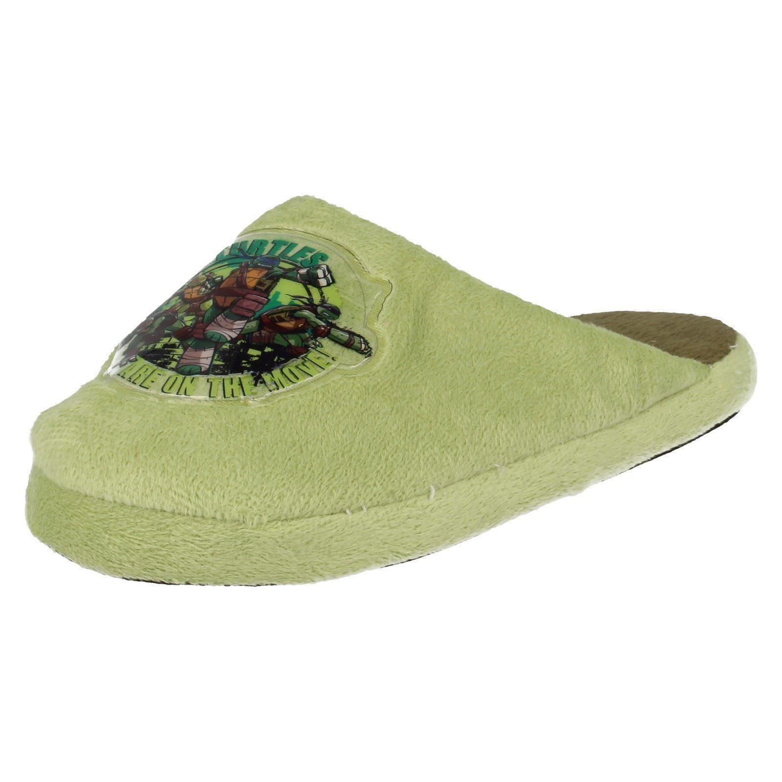 Chicos punto en zapatillas de Teenage Mutant Ninja Turtles