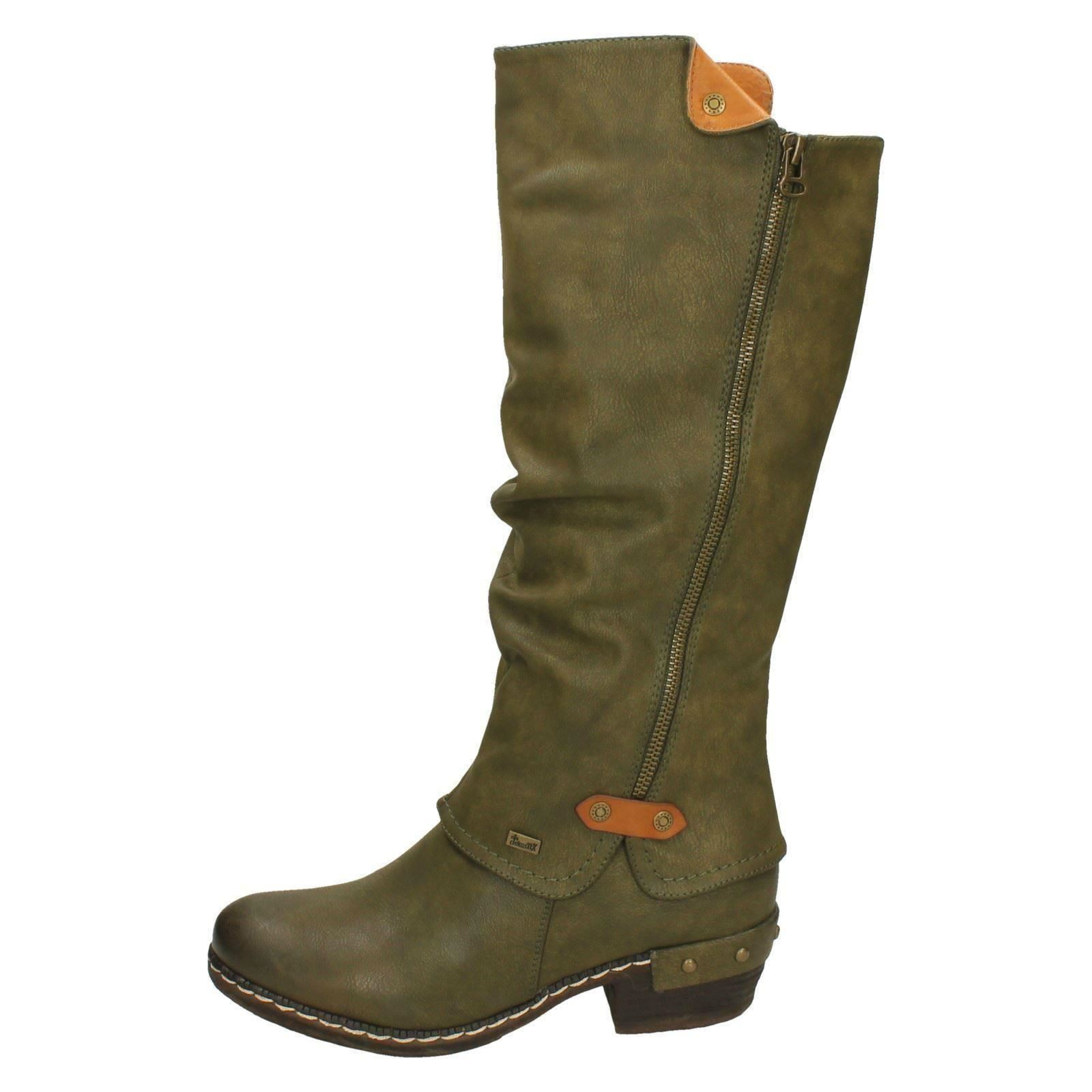 Ladies Rieker Knee High Casual Boots *93655*