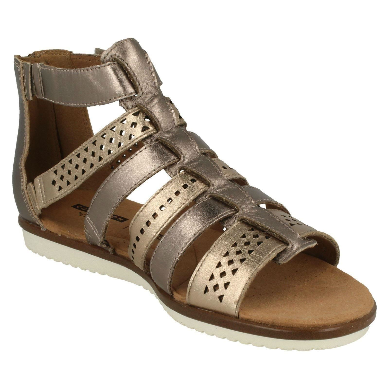 360880530968 Ladies-Clarks-Gladiator-Sandals-Kele-Lotus thumbnail 8