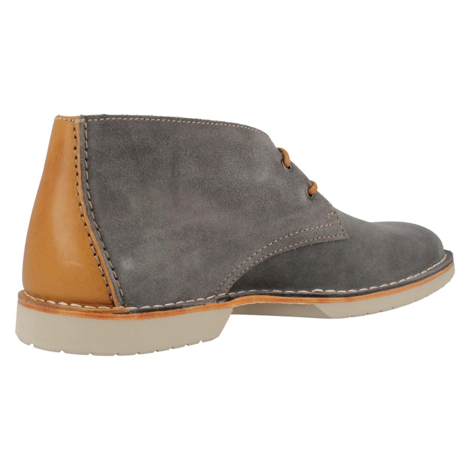 Hombre Clarks Desert Style Lace-Up Lace-Up Lace-Up Ankle botas Hinton Rise 5e92ba