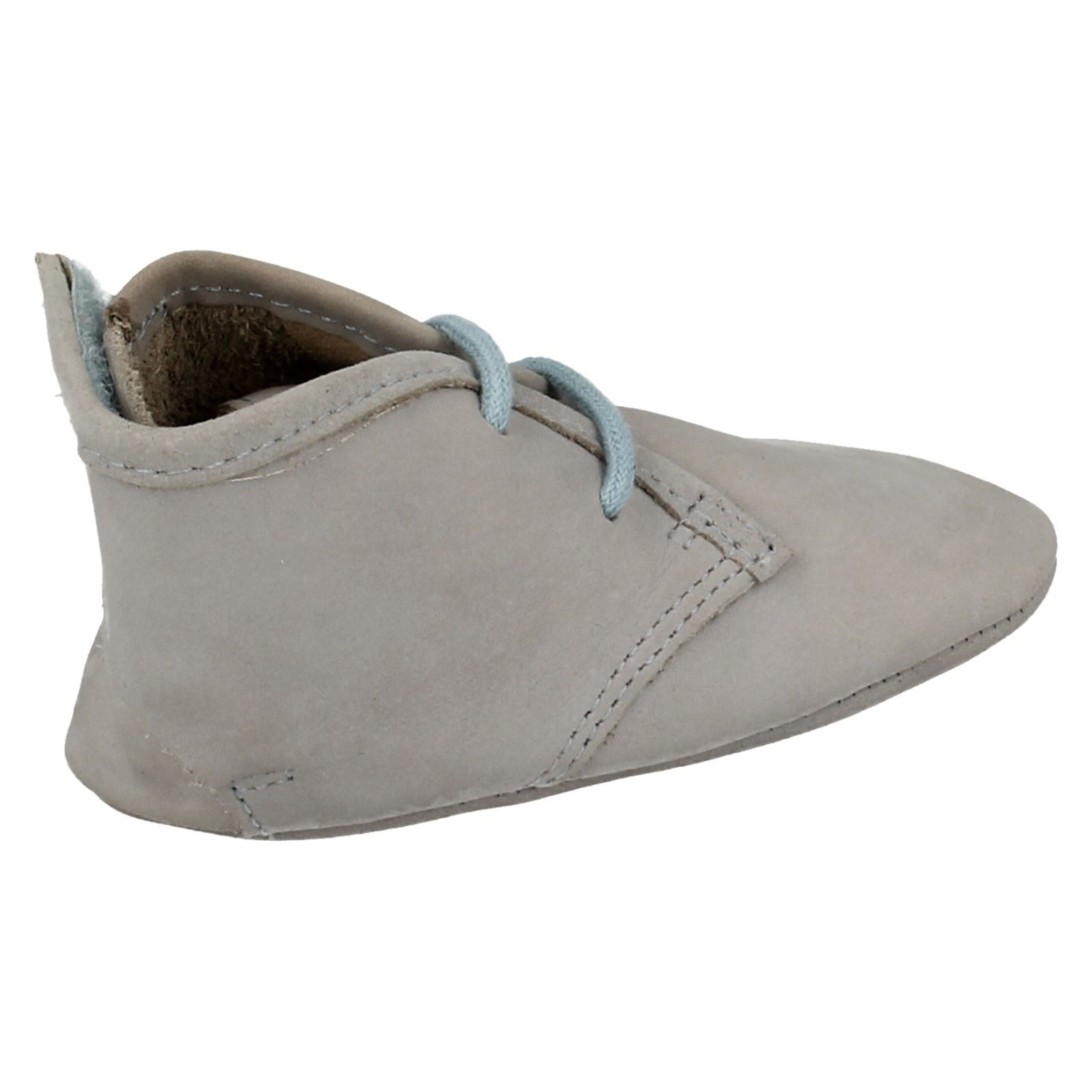 87f1f8179 de cuero Cochecito niños encaje para Clarks de Riptape de bebé pequeños y  Zapatos qwP0FHS