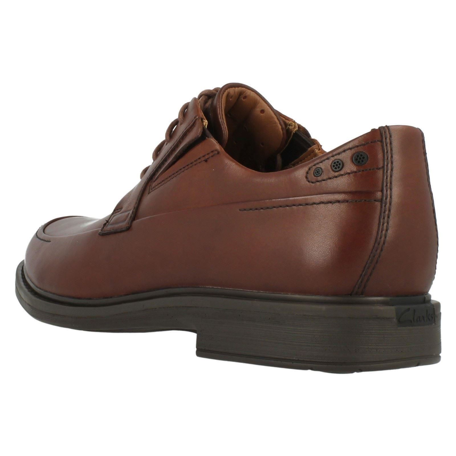 formales marrón zapatos Drexlar hombre Clarks para Dark Tan Time q8tSEpn